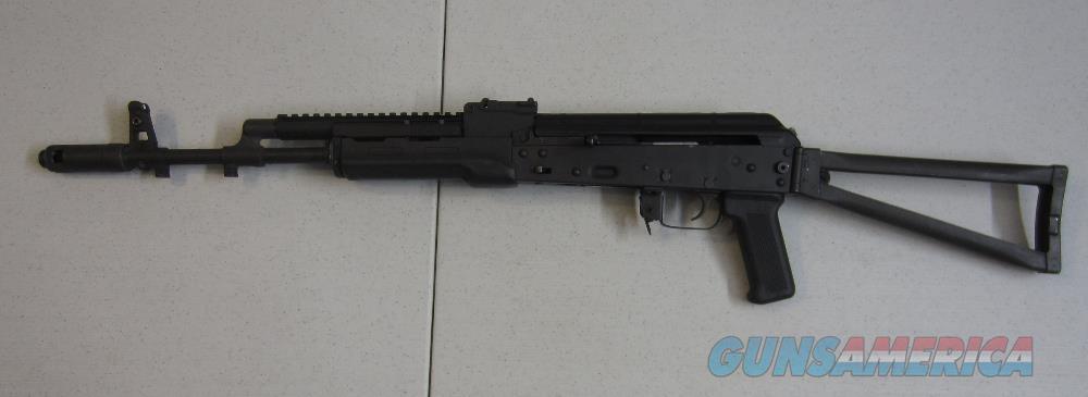 Bulgarian AK74 Folding Triangle Stock w/CSS Lightning Bolt/Lever, Ultimak Top Rail, XS Sights  Guns > Rifles > AK-47 Rifles (and copies) > Folding Stock