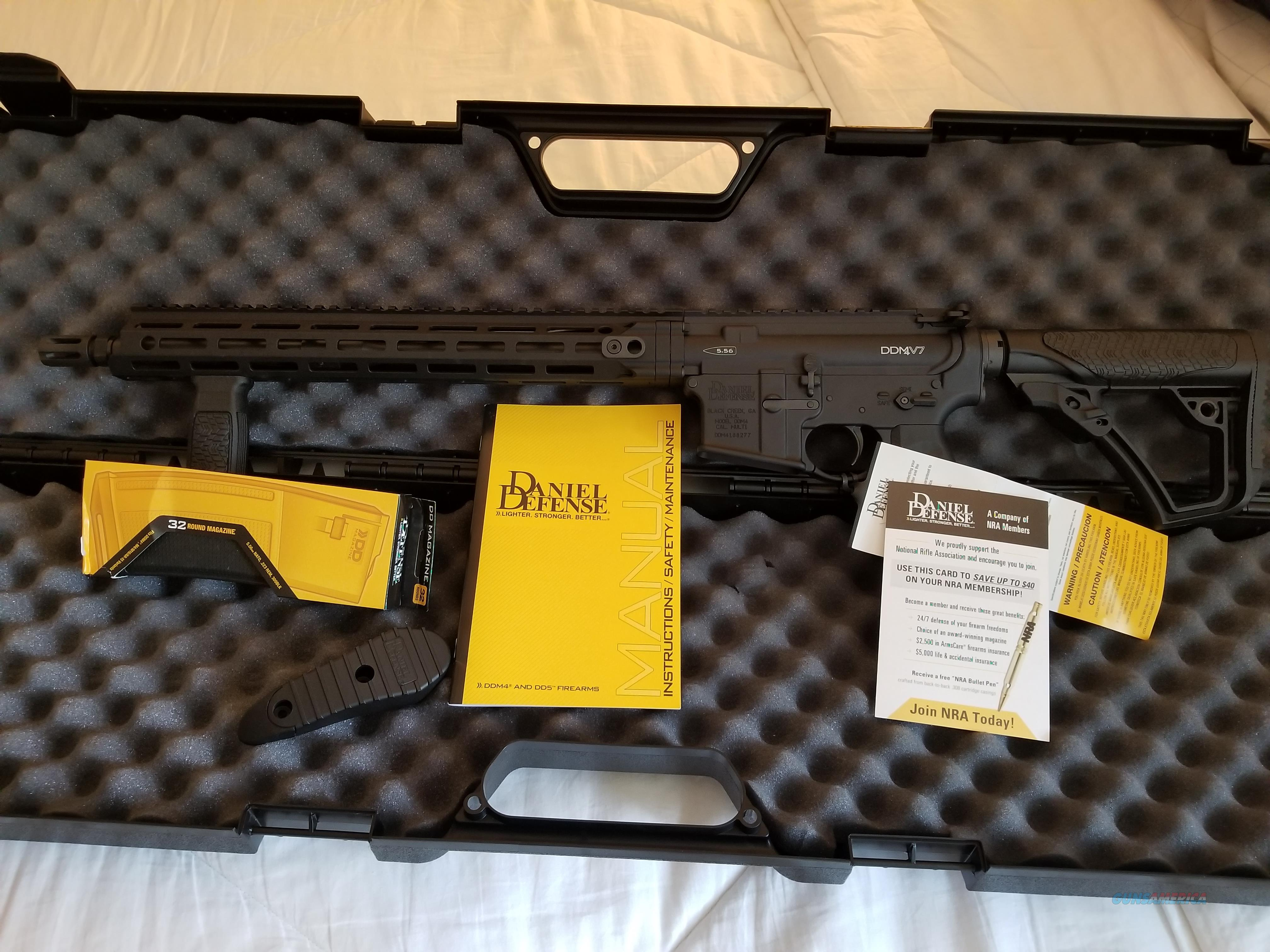 Daniel Defense DDM4 V7 *Beto Special*  Guns > Rifles > Daniel Defense > Complete Rifles