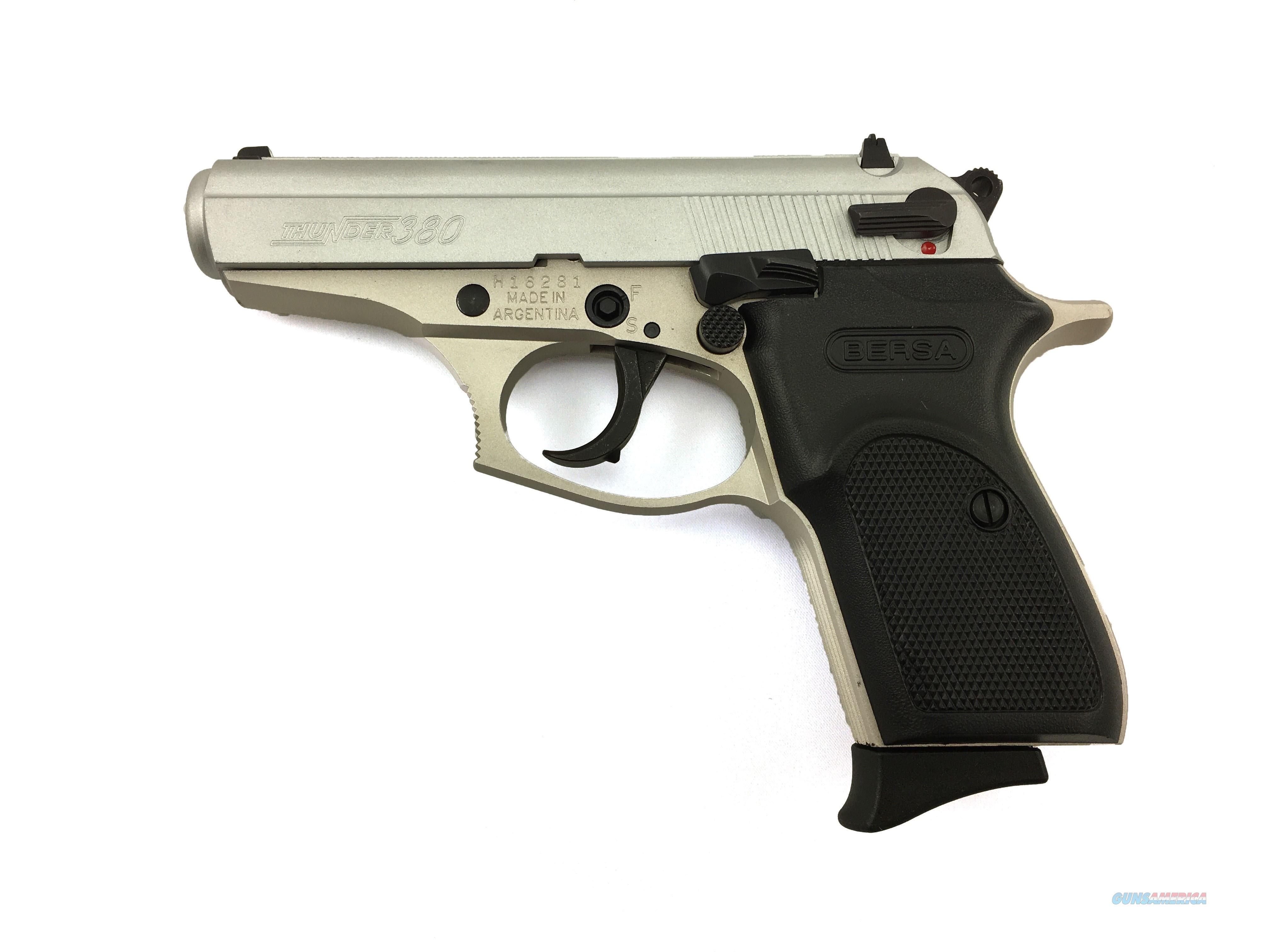 Bersa Thunder Lite .380 ACP 3.5 Inch   Guns > Pistols > Bersa Pistols