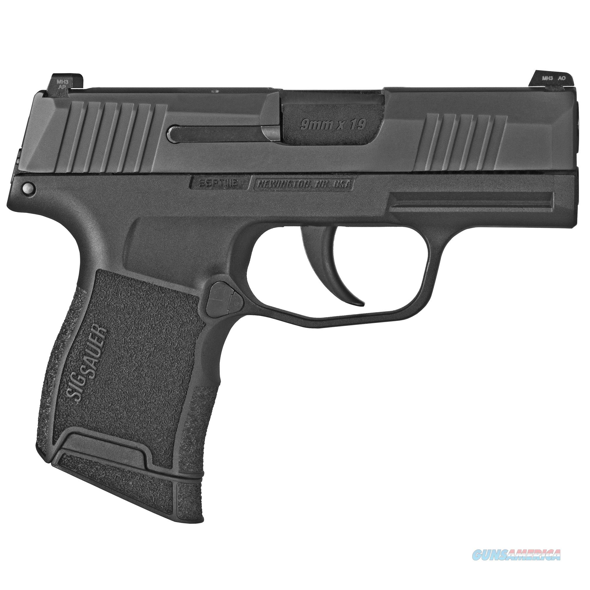 Sig Sauer P365 9mm w/2 Mags!  Guns > Pistols > Sig - Sauer/Sigarms Pistols > P365
