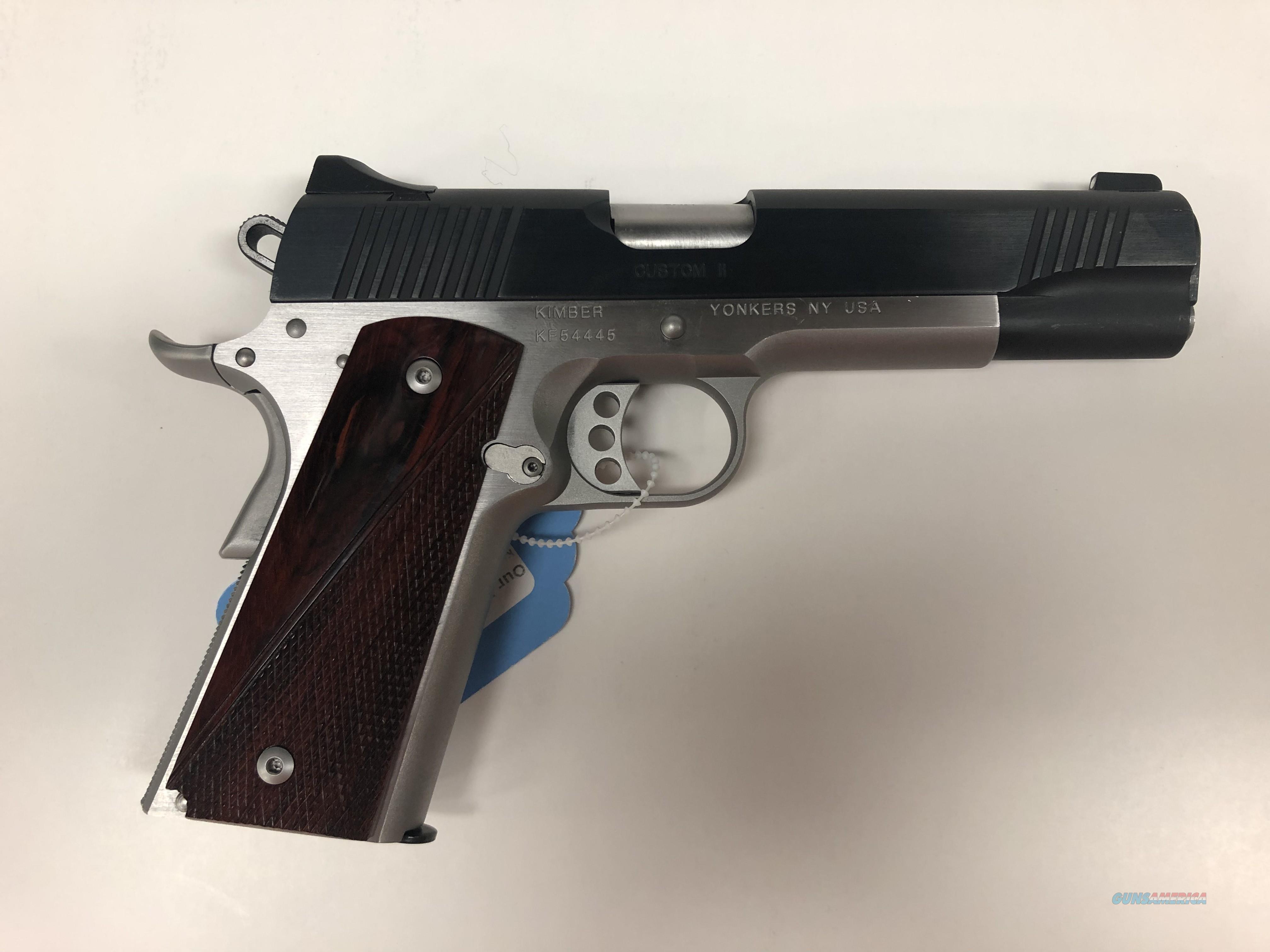 USED Kimber Custom II 9mm   Guns