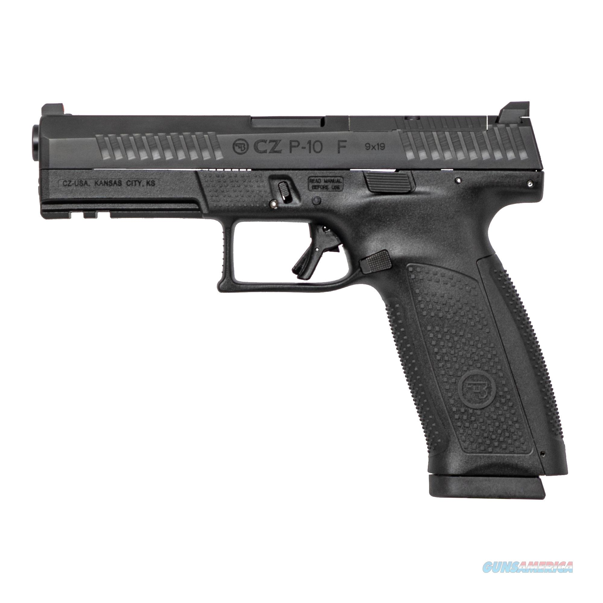"CZ P-10F 9mm 4.5"" Optic Ready w/2 Mags!  Guns > Pistols > CZ Pistols"