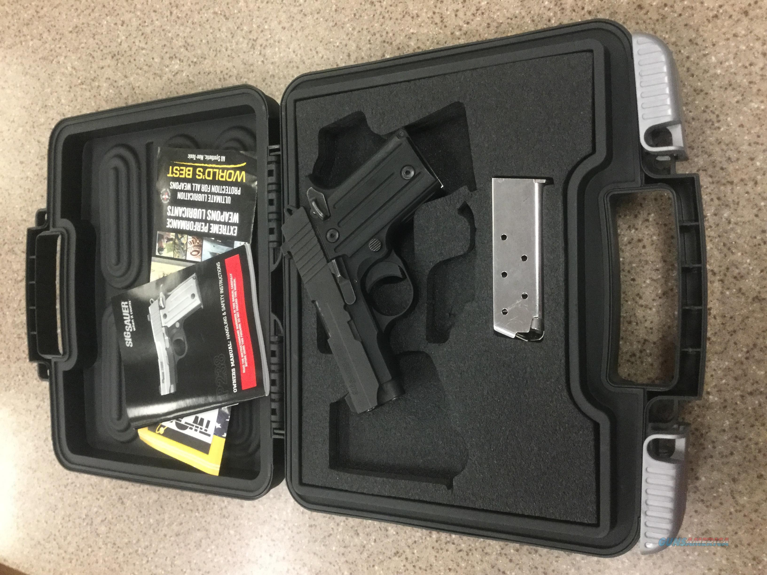 USED Sig Sauer P238 380ACP  Guns > Pistols > Sig - Sauer/Sigarms Pistols > P238