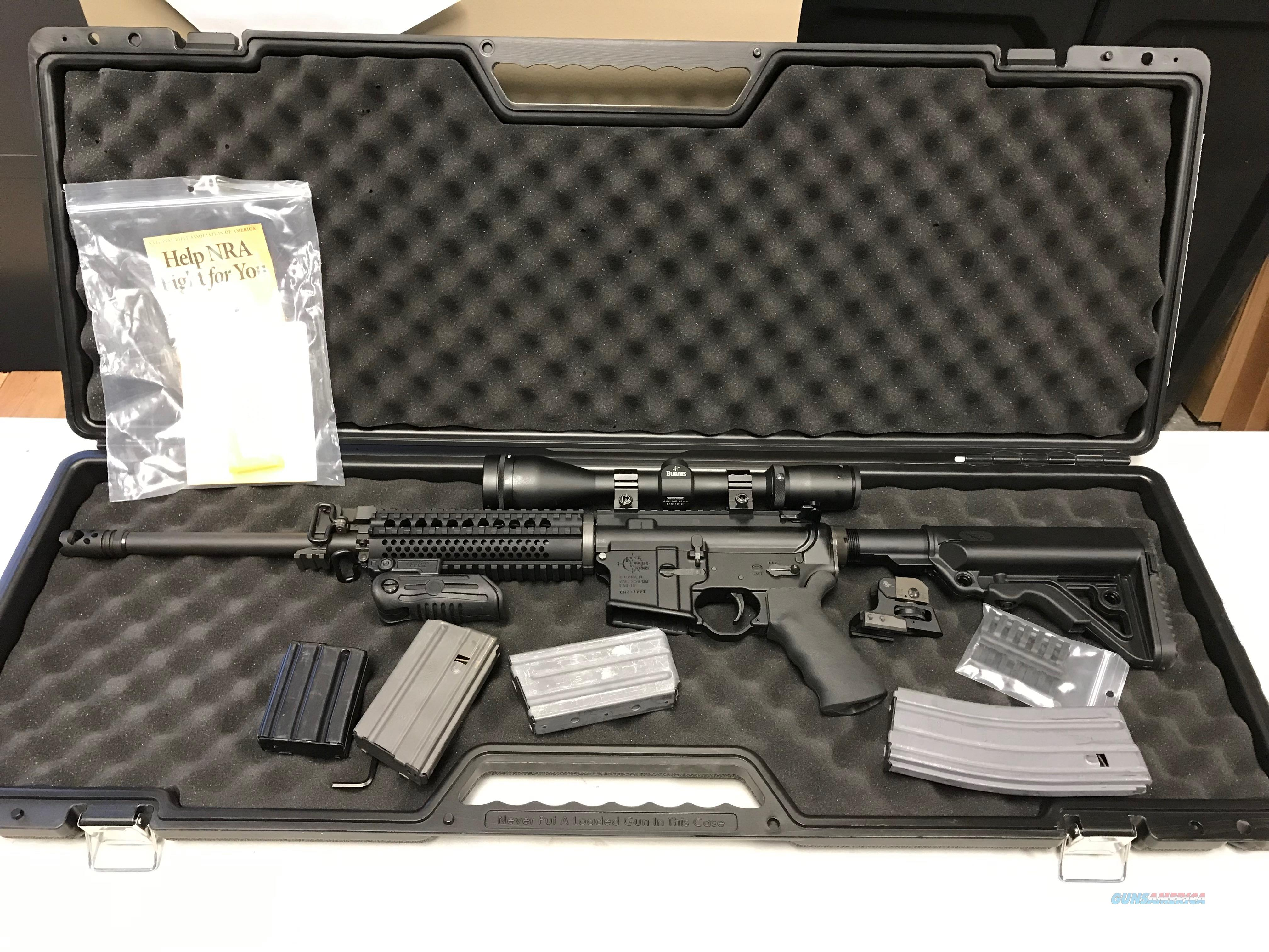 Used Rock River Operator 5.56NATO with Accessories!  Guns > Rifles > Rock River Arms Rifles