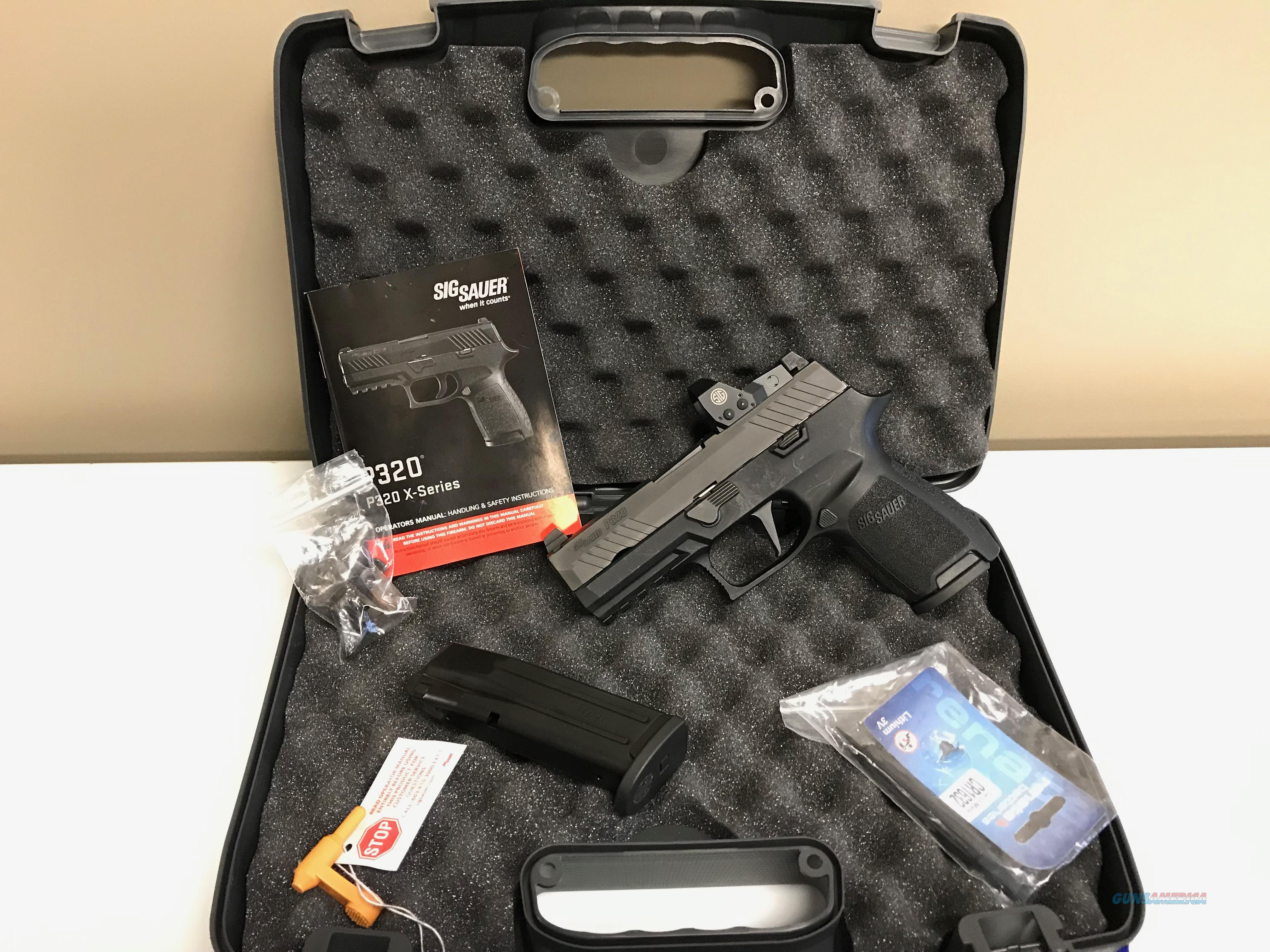 USED Sig Sauer P320 9mm Compact RX w/2 Mags!  Guns > Pistols > Sig - Sauer/Sigarms Pistols > P320
