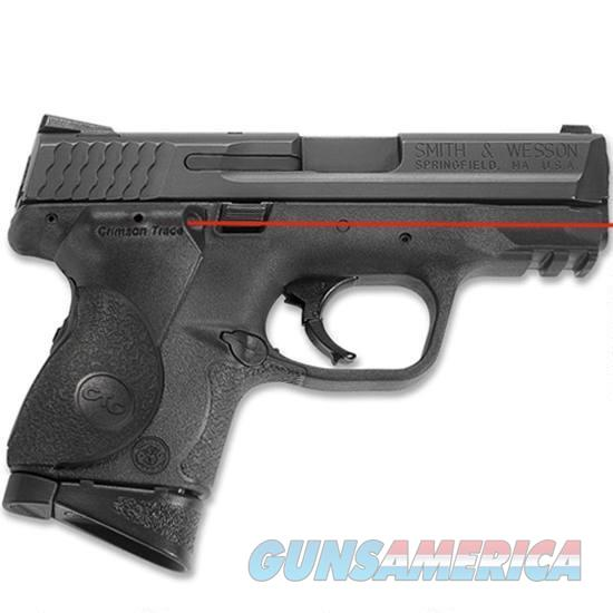 S&W M&P40 Compact With Crimson Trace Laser Grip  Guns > Pistols > Smith & Wesson Pistols - Autos > Polymer Frame