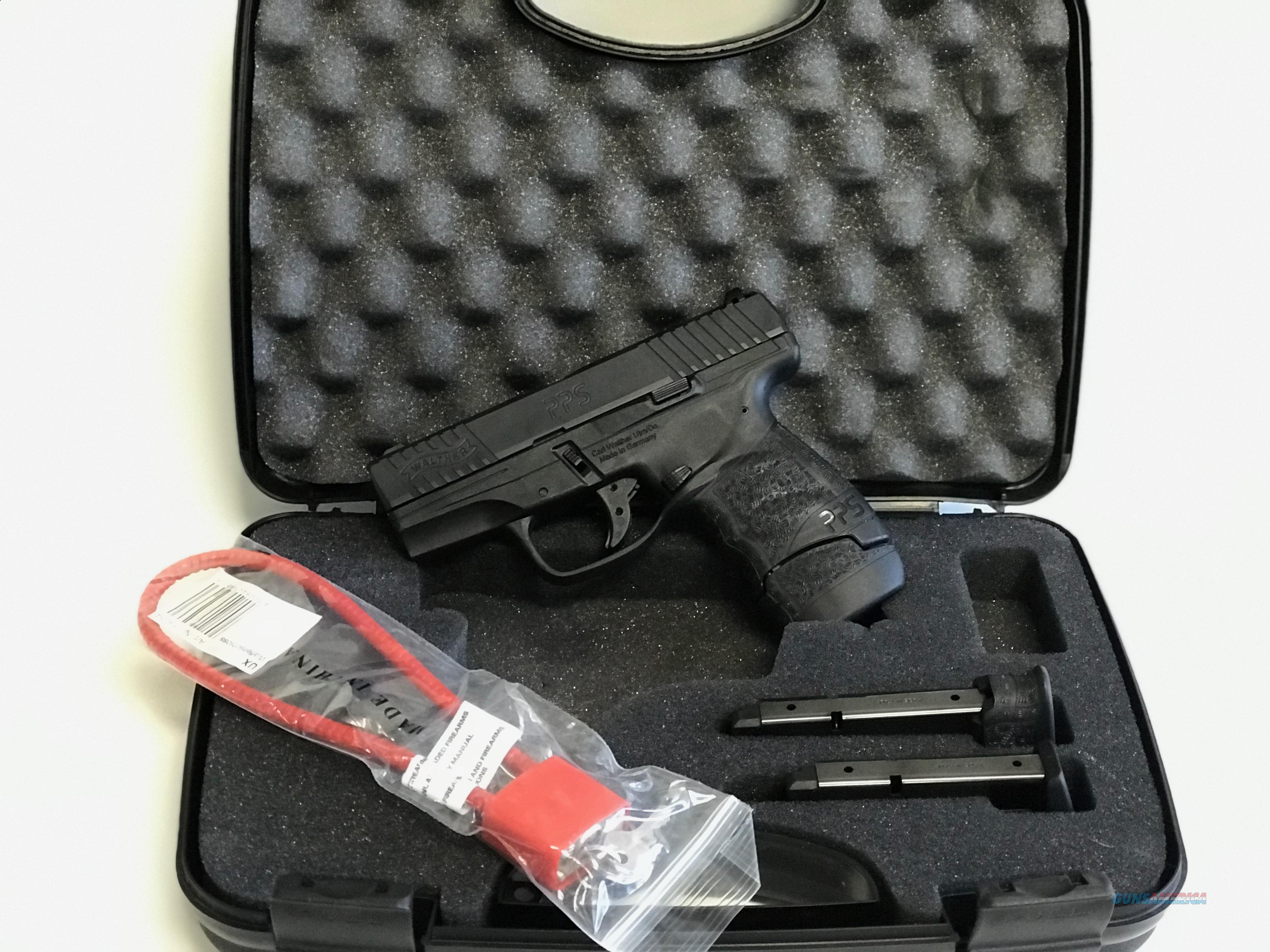 USED, Like New, Walther PPS M2 9mm NS  Guns > Pistols > Walther Pistols > Post WWII > PPS