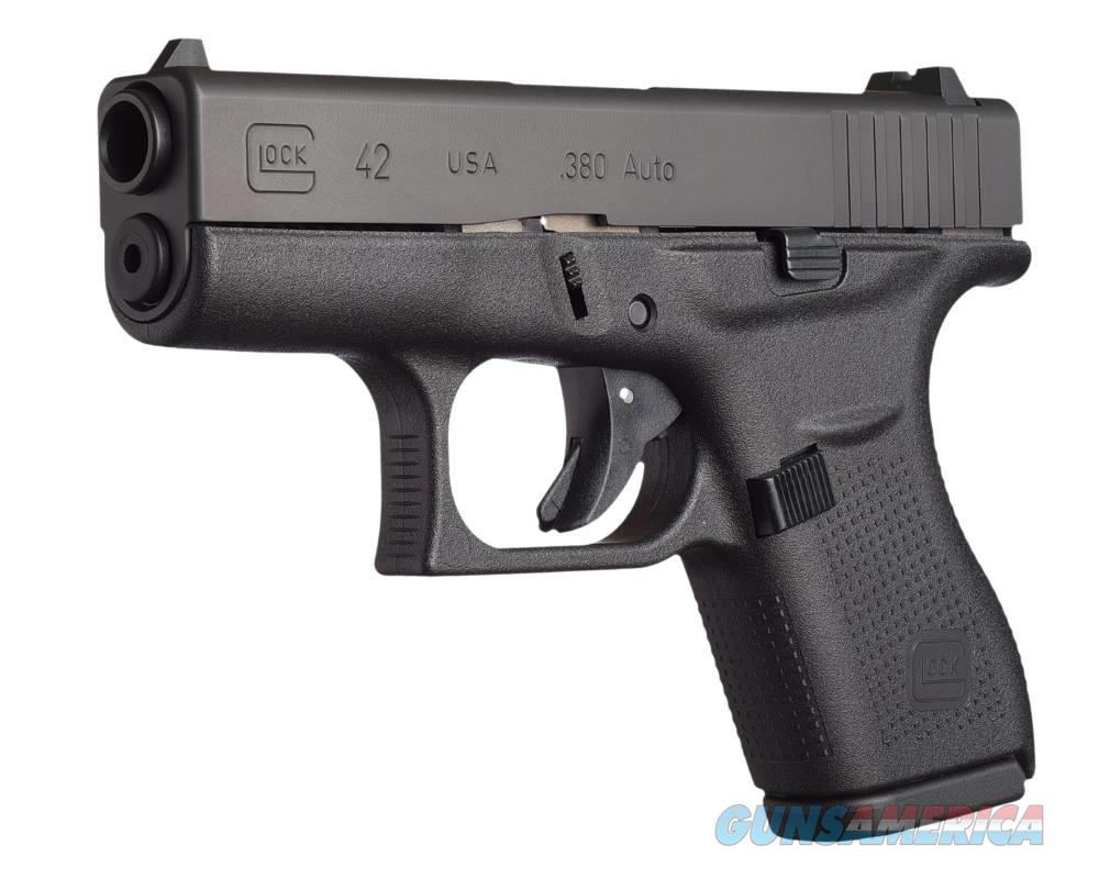 "Glock 42 Sub-Compact, 380 ACP 3.25""  Guns"