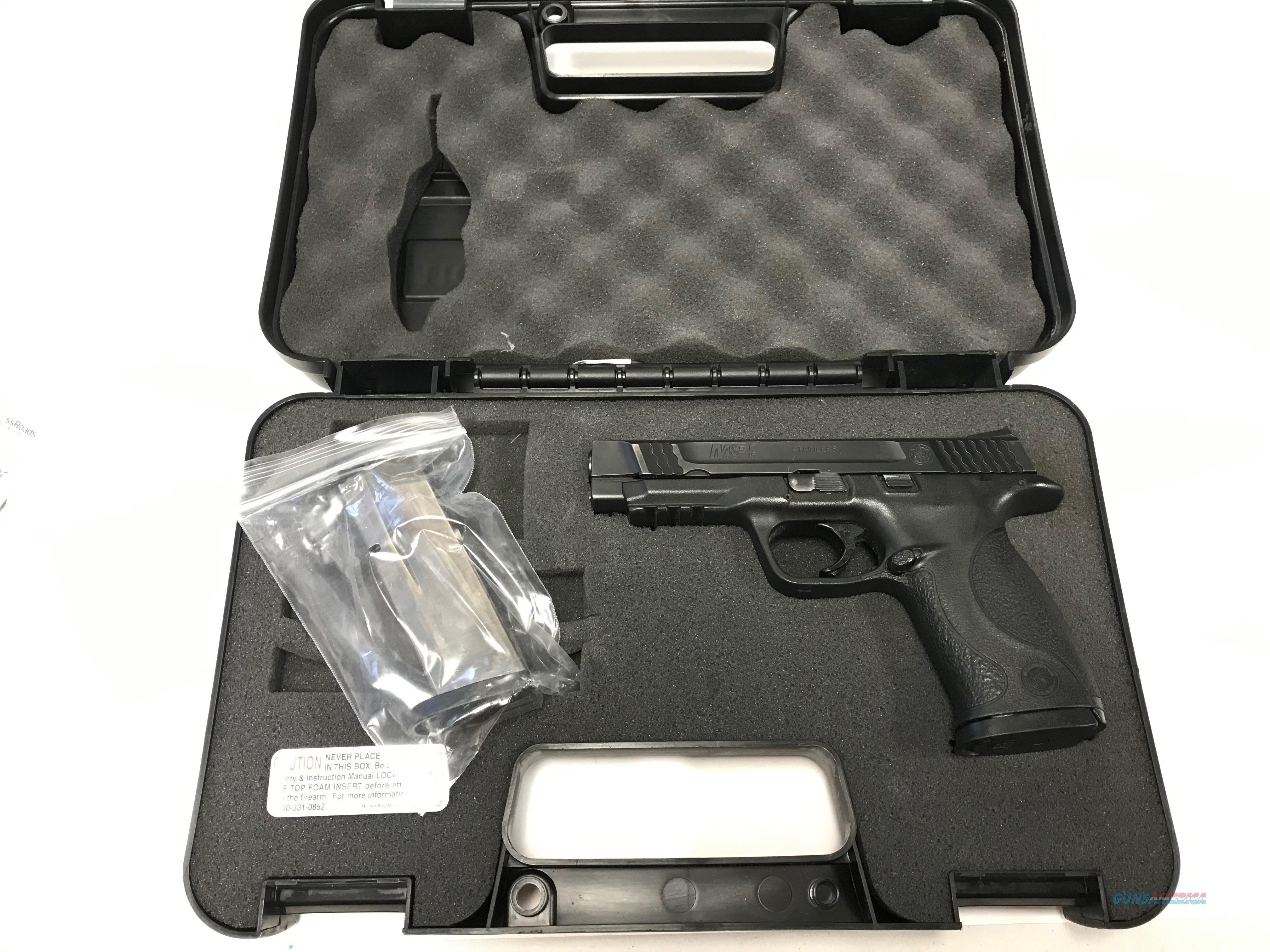 USED S&W M&P 45ACP Night Sights!  Guns > Pistols > Smith & Wesson Pistols - Autos > Polymer Frame