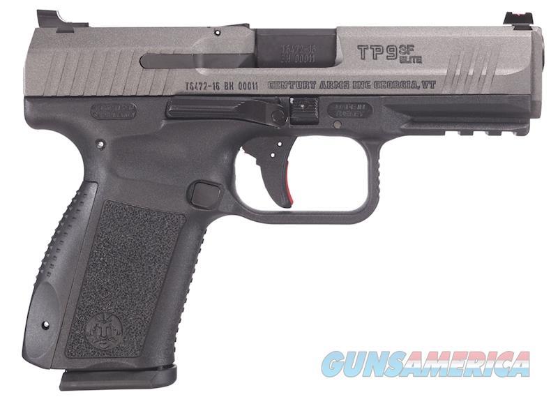 Century Arms TP9SF Elite 9mm 4.2 inch Barrel Picatinn  Guns > Pistols > Century International Arms - Pistols > Pistols