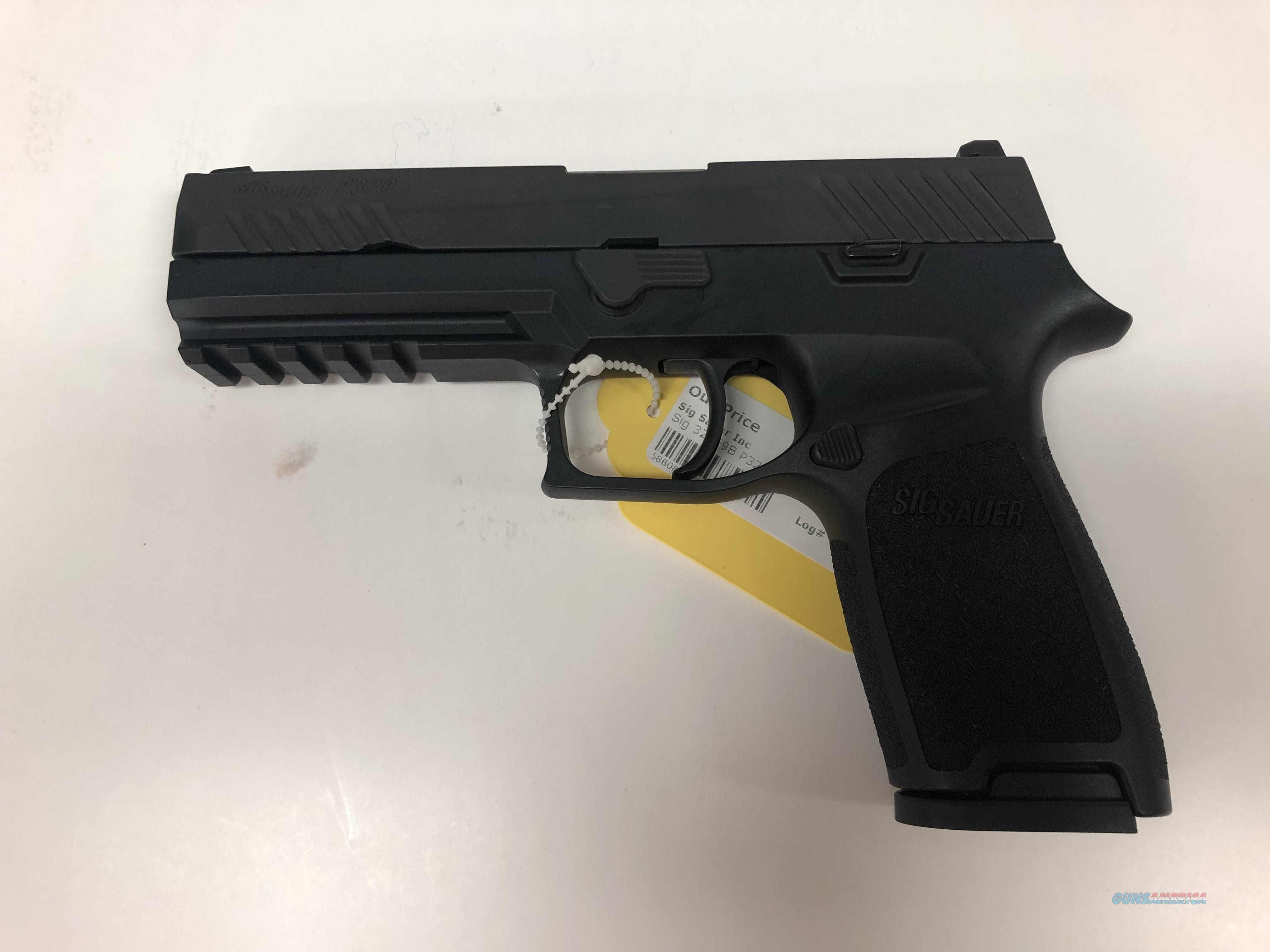 USED Sig Sauer P320 Full Size  Guns > Pistols > Sig - Sauer/Sigarms Pistols > Other