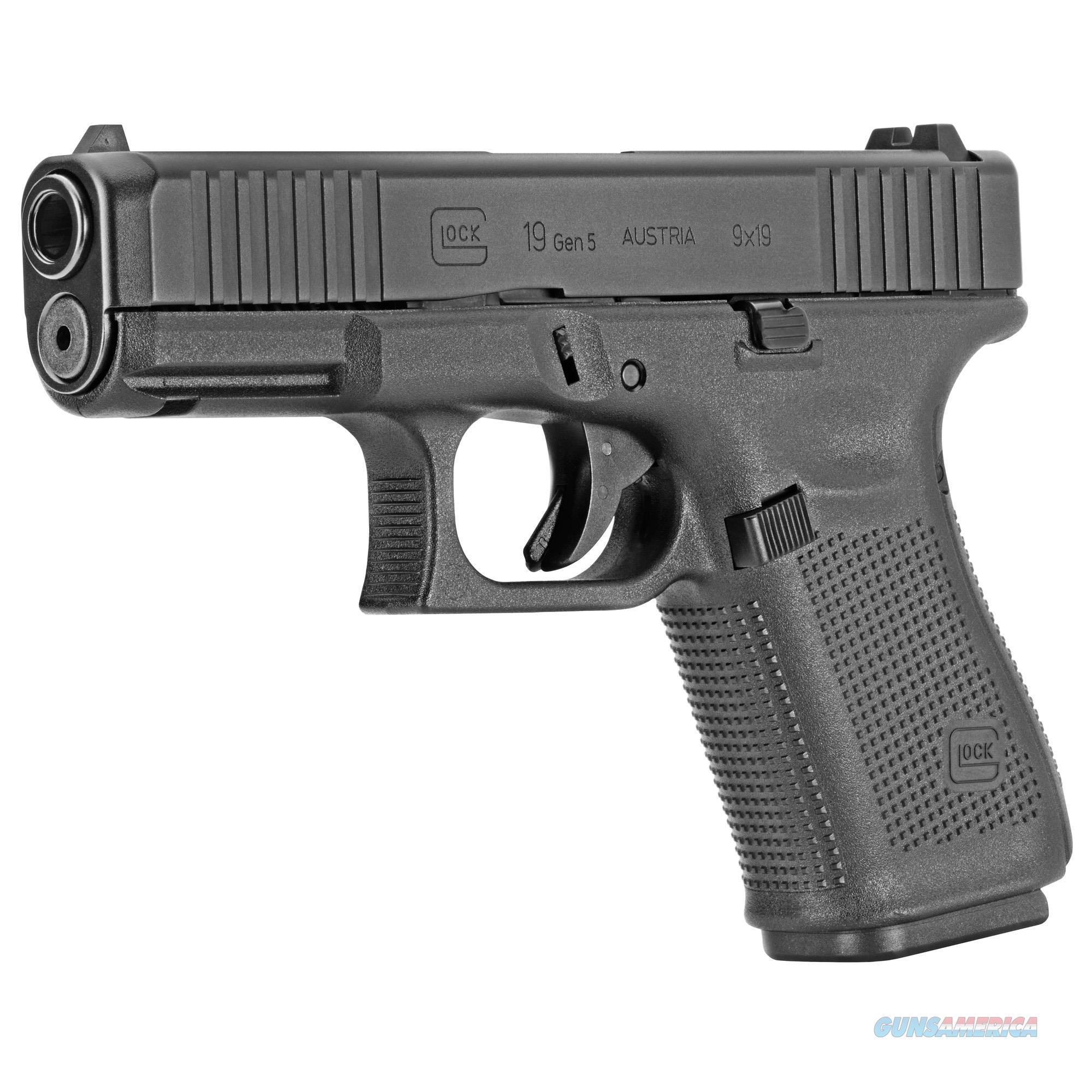 Glock 19 Gen5 9mm NO CUT OUT!  Guns > Pistols > Glock Pistols > 19/19X