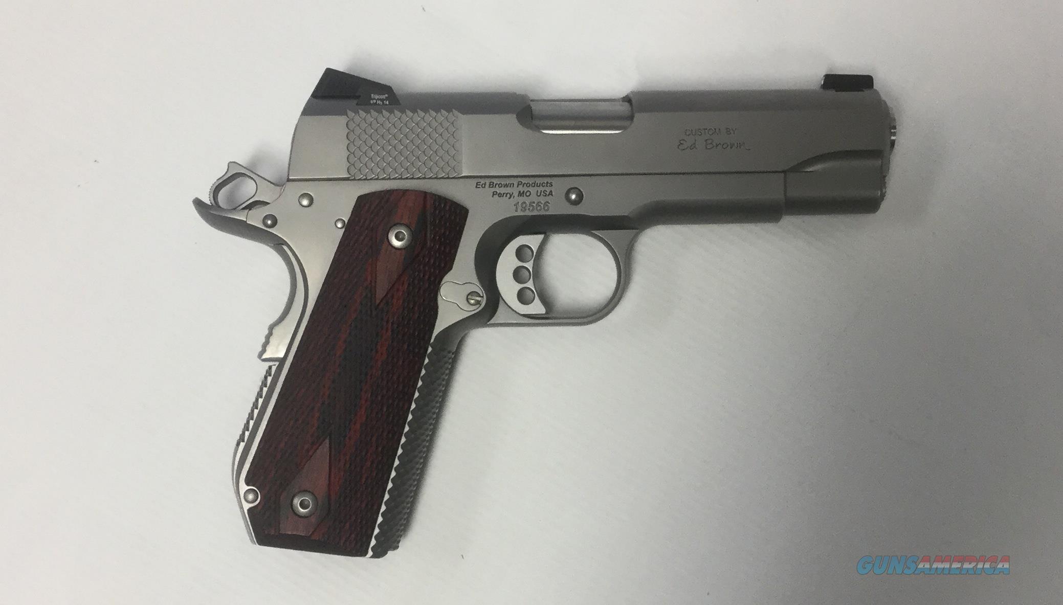 USED Ed Brown Kobra Carry 45acp  Guns > Pistols > Ed Brown Pistols