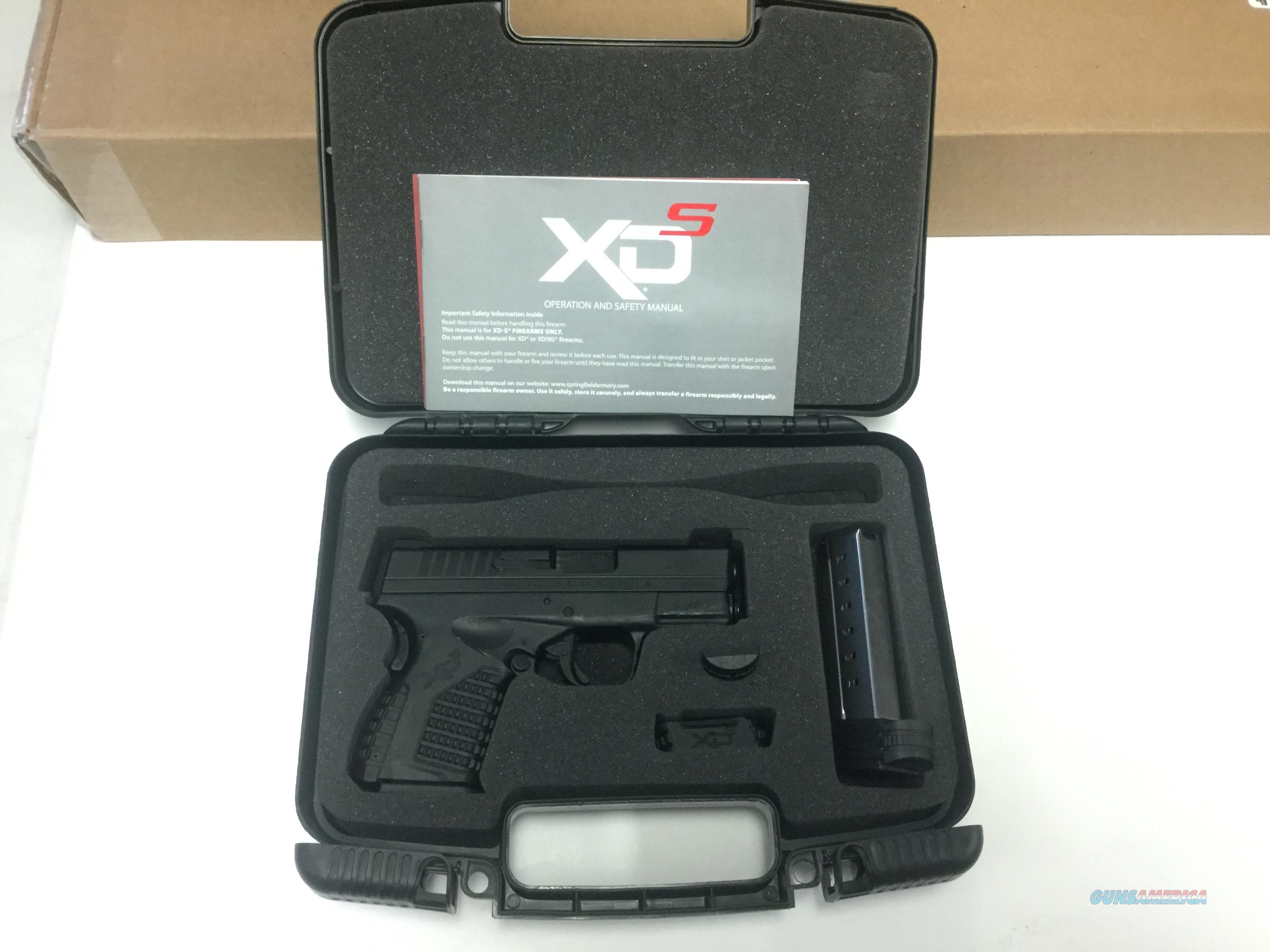 USED Springfield XD-S 40S&W with 2 Magazines  Guns > Pistols > Springfield Armory Pistols > XD-S