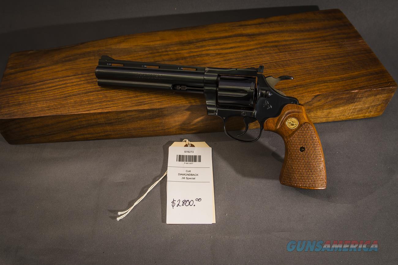 Colt Diamondback .38 Special  Guns > Pistols > Colt Double Action Revolvers- Modern