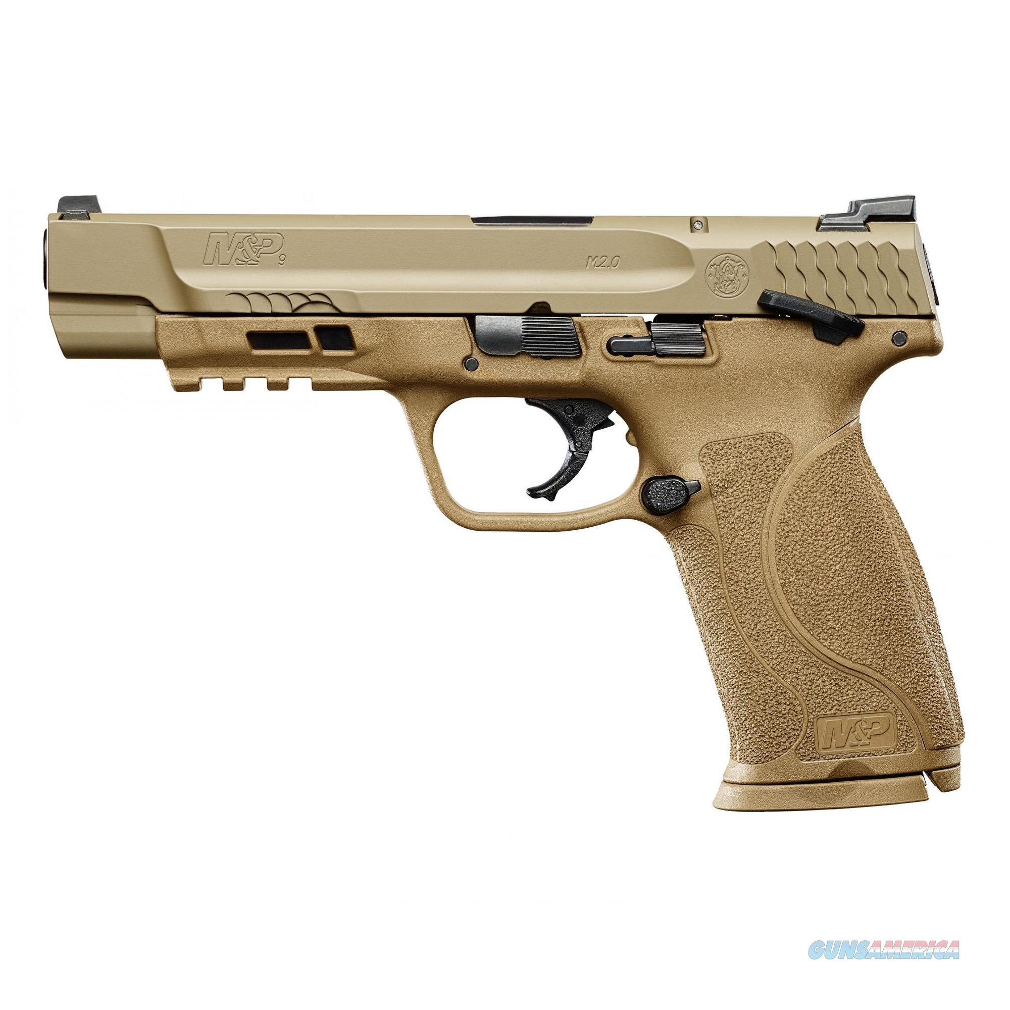 "S&W M&P 2.0 9MM 5"" 17RD FDE NMS TS Smith&Wesson 11537  Guns > Pistols > Smith & Wesson Pistols - Autos > Polymer Frame"