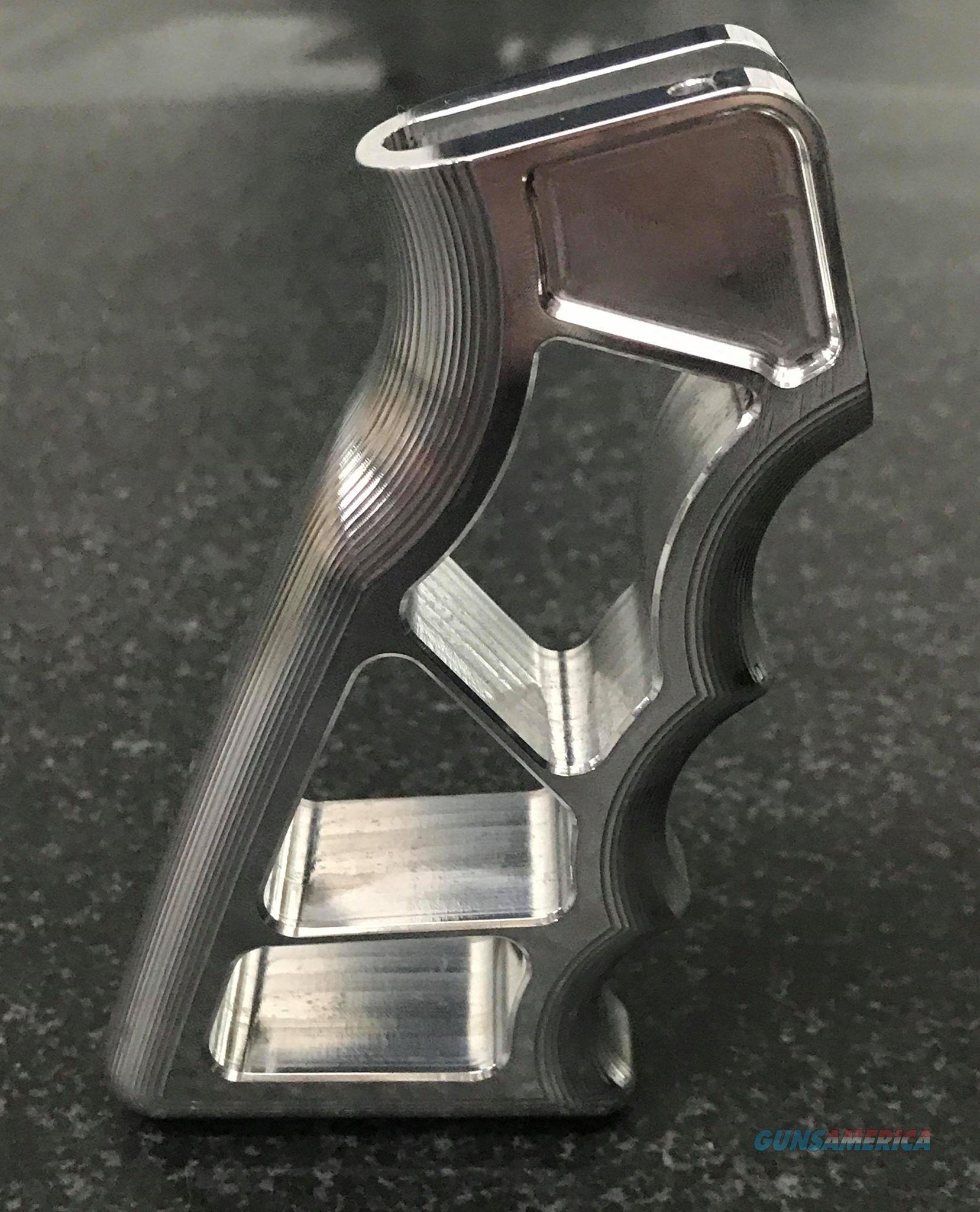 AR15 Aluminum Skeletonized Pistol Grip  Non-Guns > Gun Parts > Grips > Other