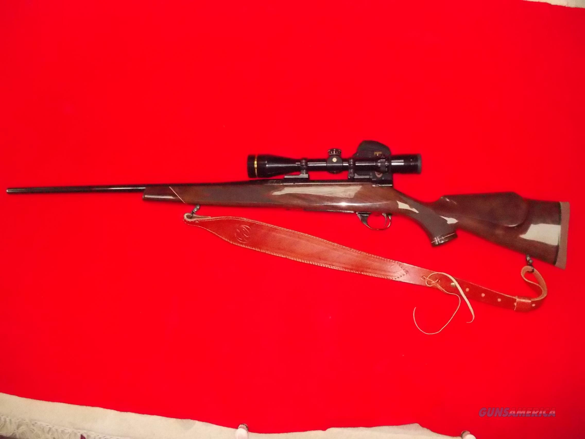 Weatherby Vanguard Deluxe  Guns > Rifles > Weatherby Rifles > Sporting