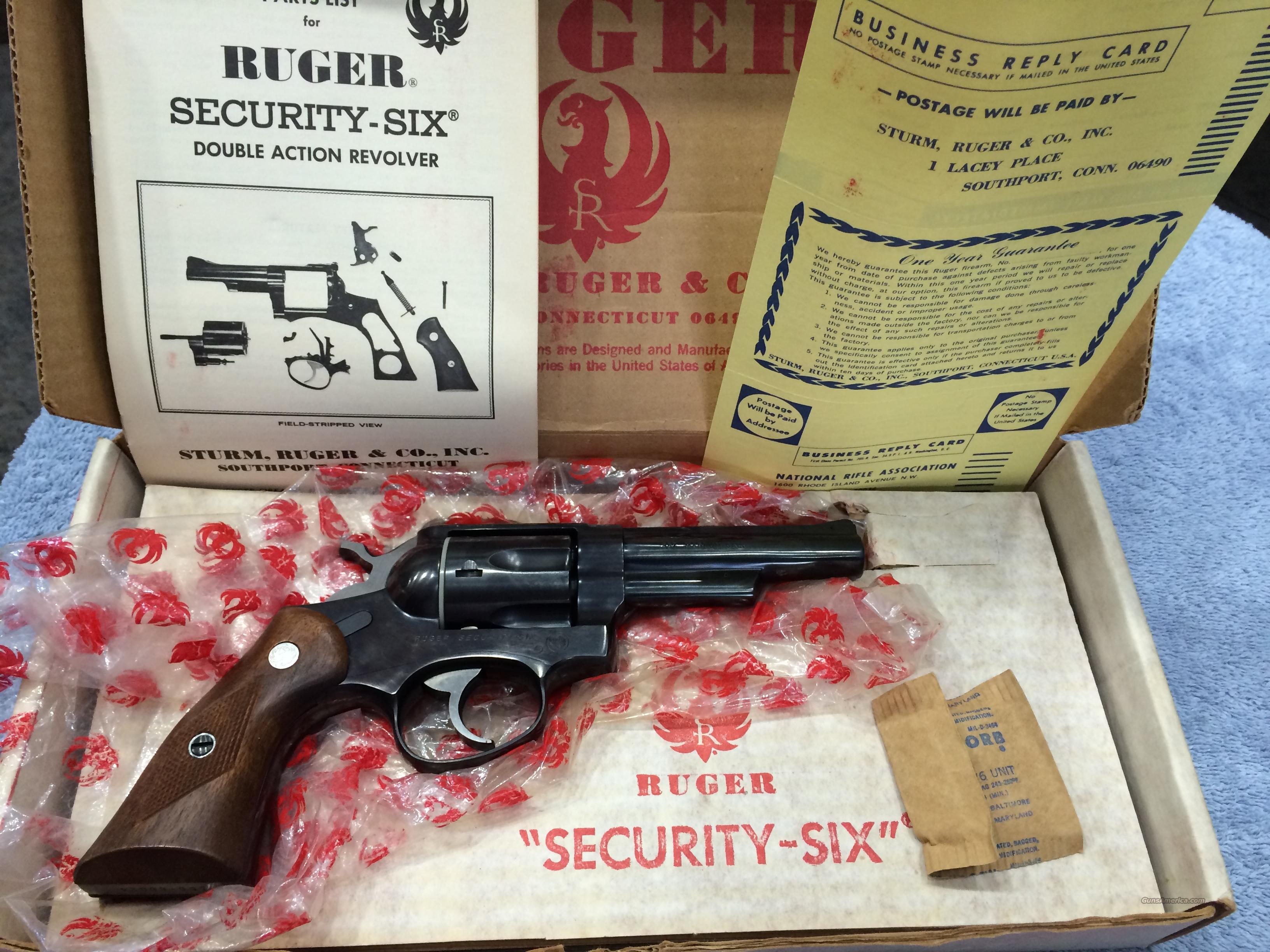 Ruger Security Six .357 Mag   Guns > Pistols > Ruger Double Action Revolver > Security Six Type