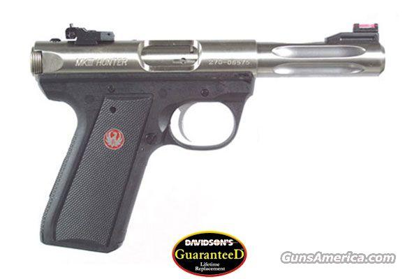 Ruger 22/45 Hunter 4.5 Stainless  Guns > Pistols > Ruger Semi-Auto Pistols > Mark I & II Family