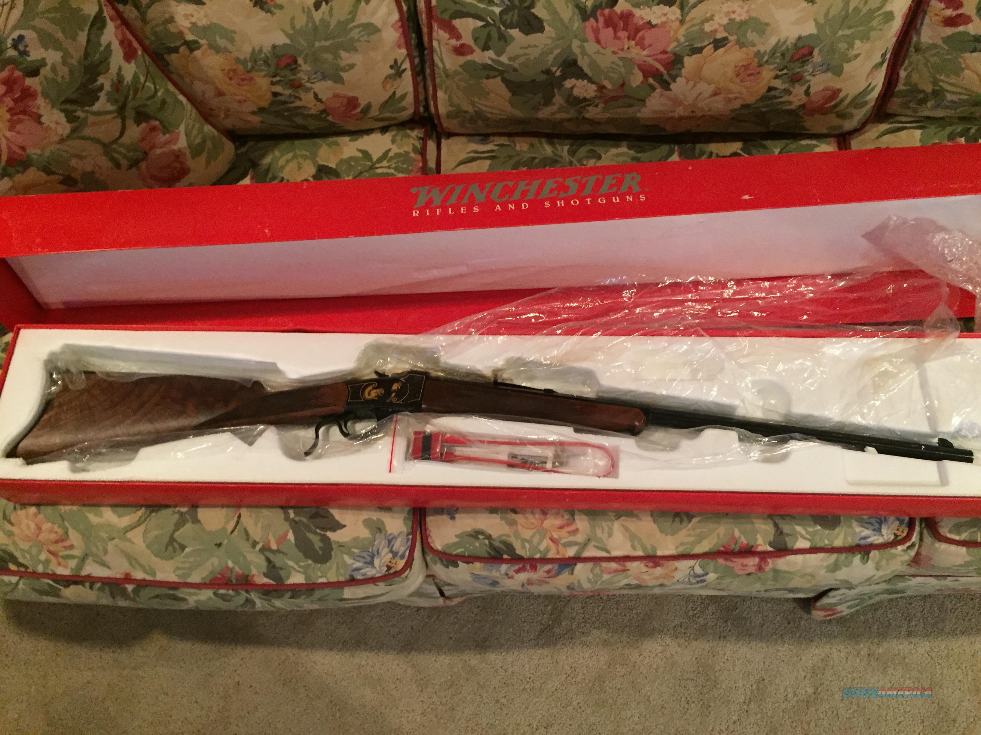 Winchester - Model 1885 Extra Light High Grade 22 LR NIB/UNFIRED  Guns > Rifles > Winchester Rifle Commemoratives