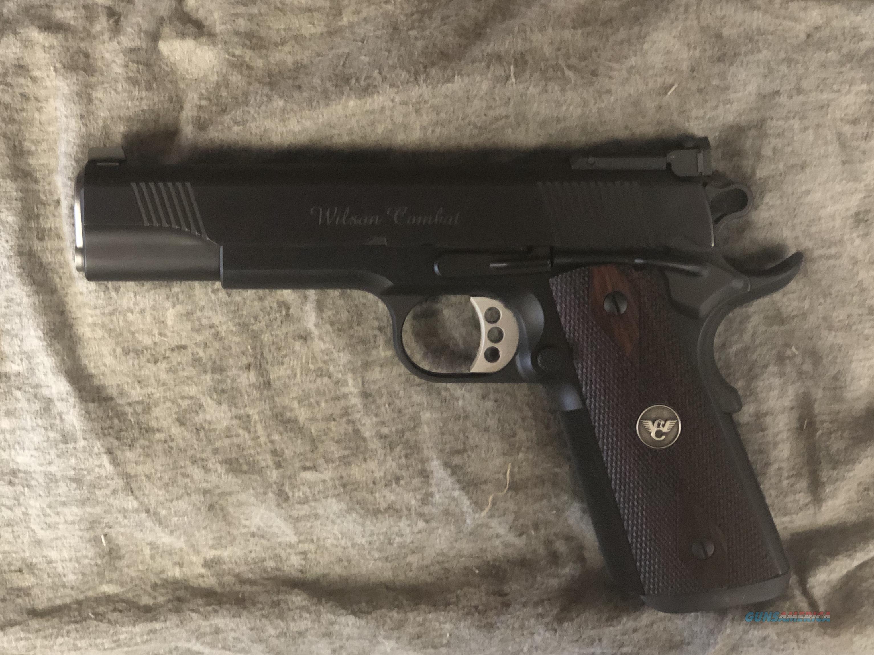 Wilson Combat Classic Supergrade 9mm 1911 LIKE NEW  Guns > Pistols > Wilson Combat Pistols