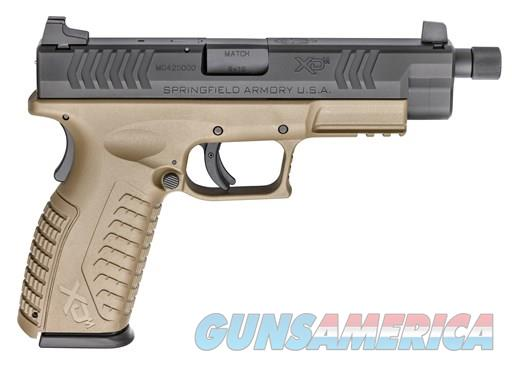 Springfield Armory XD(M) FDE 9mm 5.3' 19+1 Sh Threaded Barrel   Suppressor Height Sights. UPC 706397905606 ** NIB ** NO CC FEES!!  Guns > Pistols > Springfield Armory Pistols > XD-M
