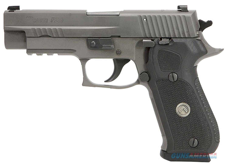 "Sig Sauer P220 10mm 5"" Legion Gray DA/SA G-10 (3) 8rd Mags.  UPC: 798681577842 ** NO CC FEES ** LIMITED QUANTITIES  Guns > Pistols > Sig - Sauer/Sigarms Pistols > P220"