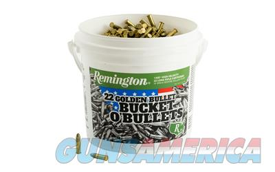 Remington Golden Bullet .22LR 4x 1400-Round Buckets 5600 Rounds Total. UPC: 047700415215 ** NO CC FEES **   Non-Guns > Ammunition
