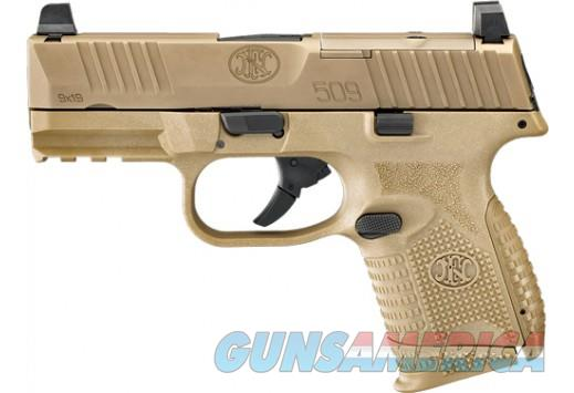 FN 509 Compact MRD FDE 9mm. UPC: 845737010911 ** NO CC FEES **  Guns > Pistols > FNH - Fabrique Nationale (FN) Pistols > FN 509