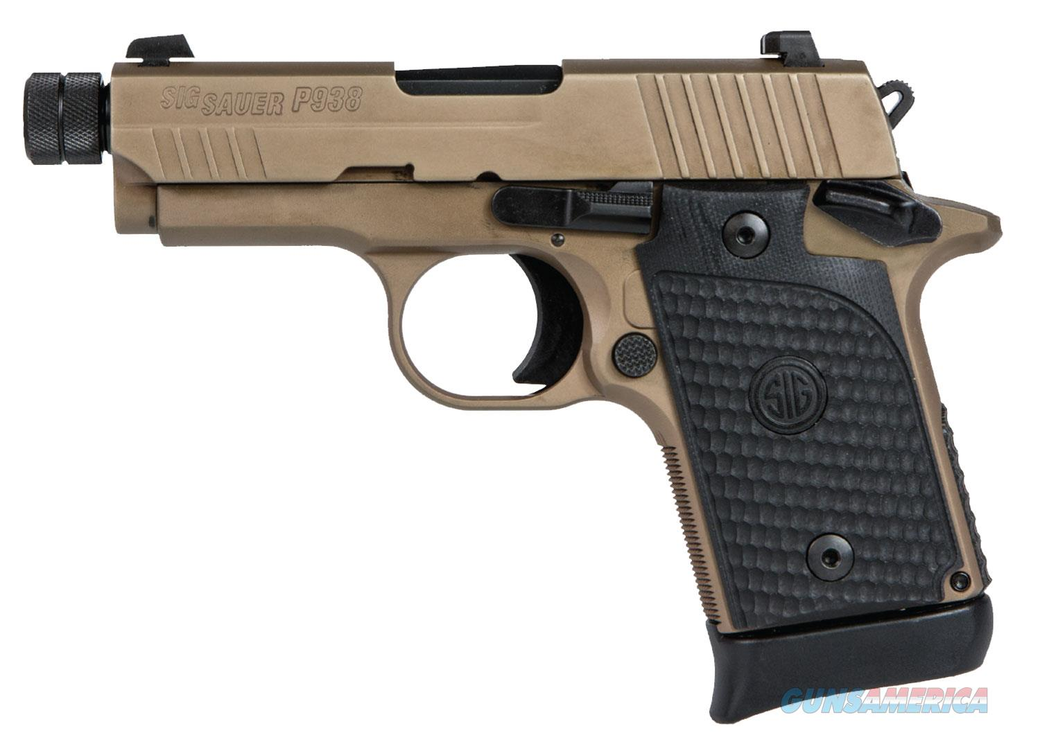 Sig Sauer P938 Emperor Scorpion 9mm.  UPC: 798681553518 ** NO CC FEES **  LIMITED QUANTITIES LEFT  Guns > Pistols > Sig - Sauer/Sigarms Pistols > P938