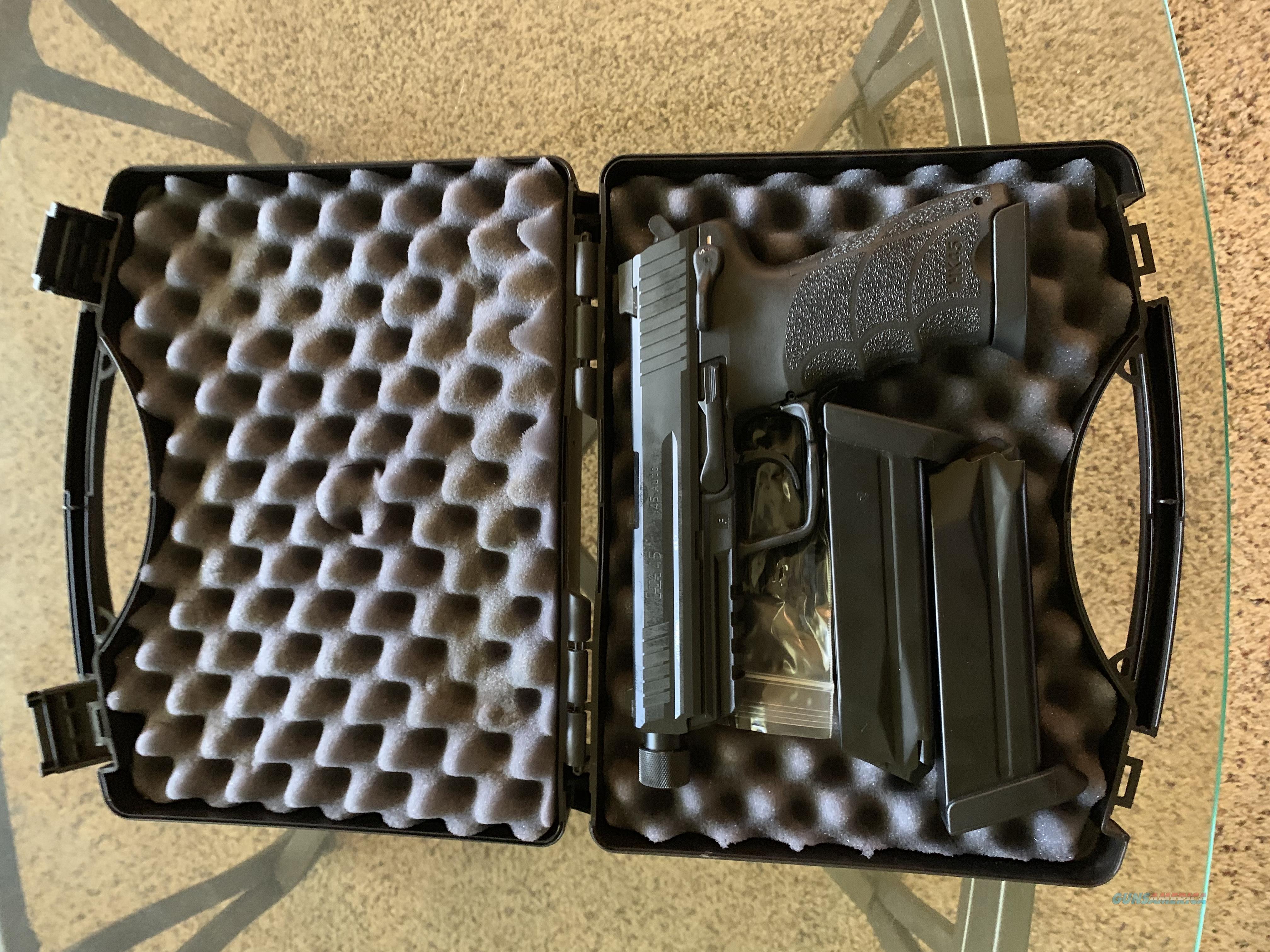 Heckler & Koch HK45 Tactical 3 rd mags NS  Guns > Pistols > Heckler & Koch Pistols > Polymer Frame