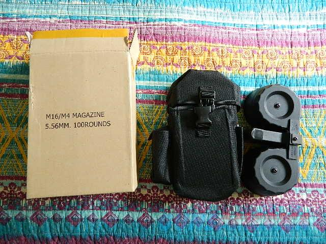 100 rd drum ar magazine  Non-Guns > Magazines & Clips > Rifle Magazines > AR-15 Type