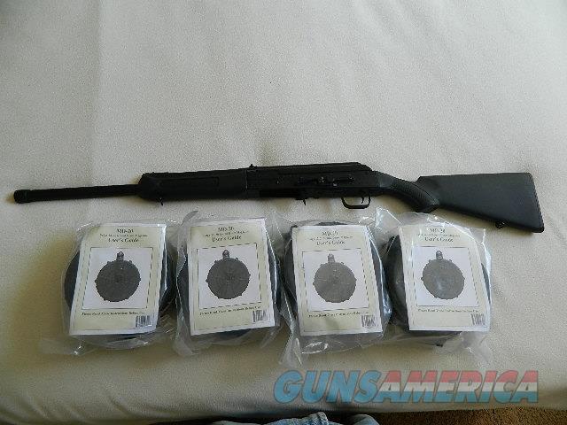 Saiga 12 ga. Shotgun + Drum magazines  Guns > Shotguns > Saiga Shotguns > Shotguns