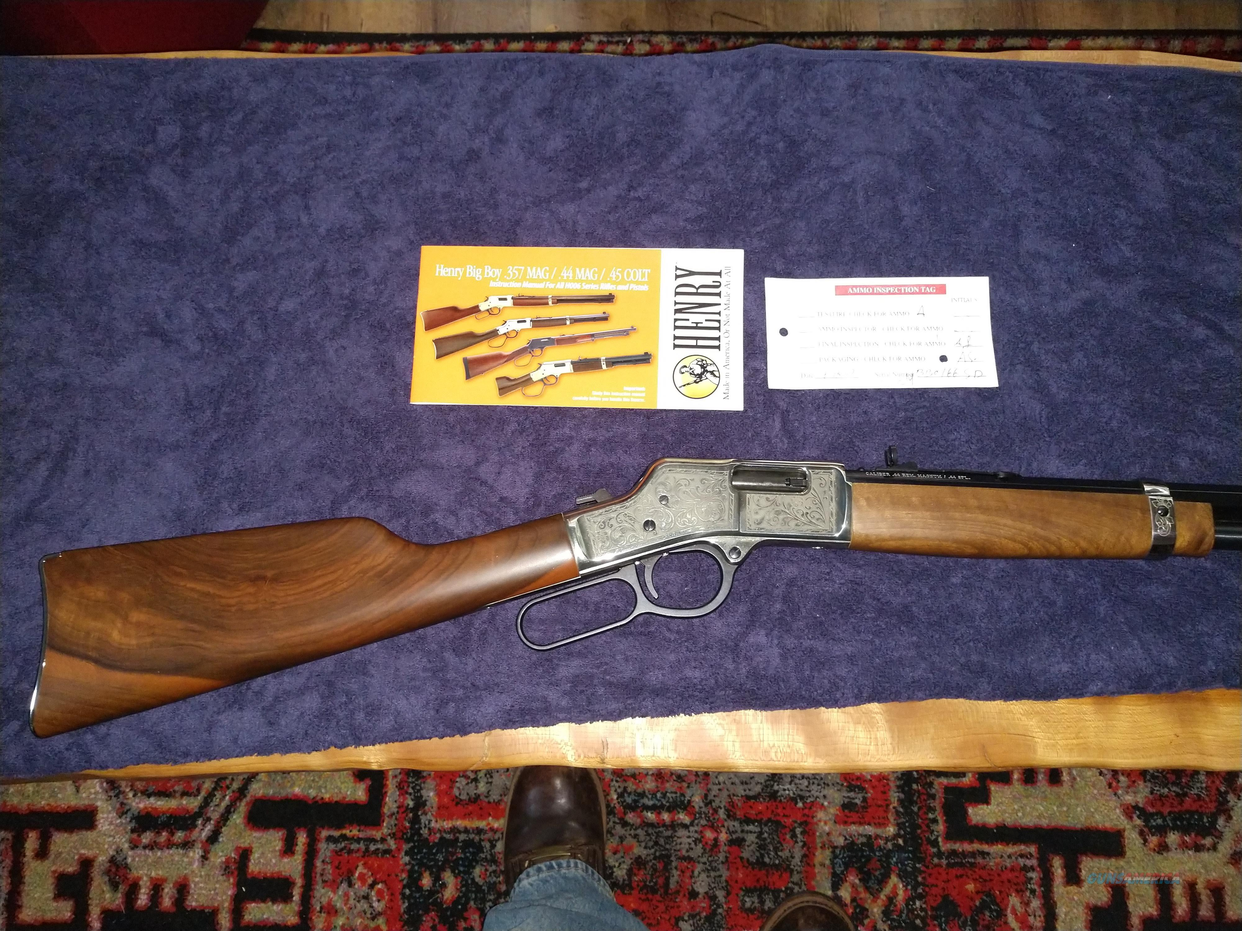 Henry Rifle BIg Boy Silver deluxe 44 Mag  Guns > Rifles > Henry Rifle Company
