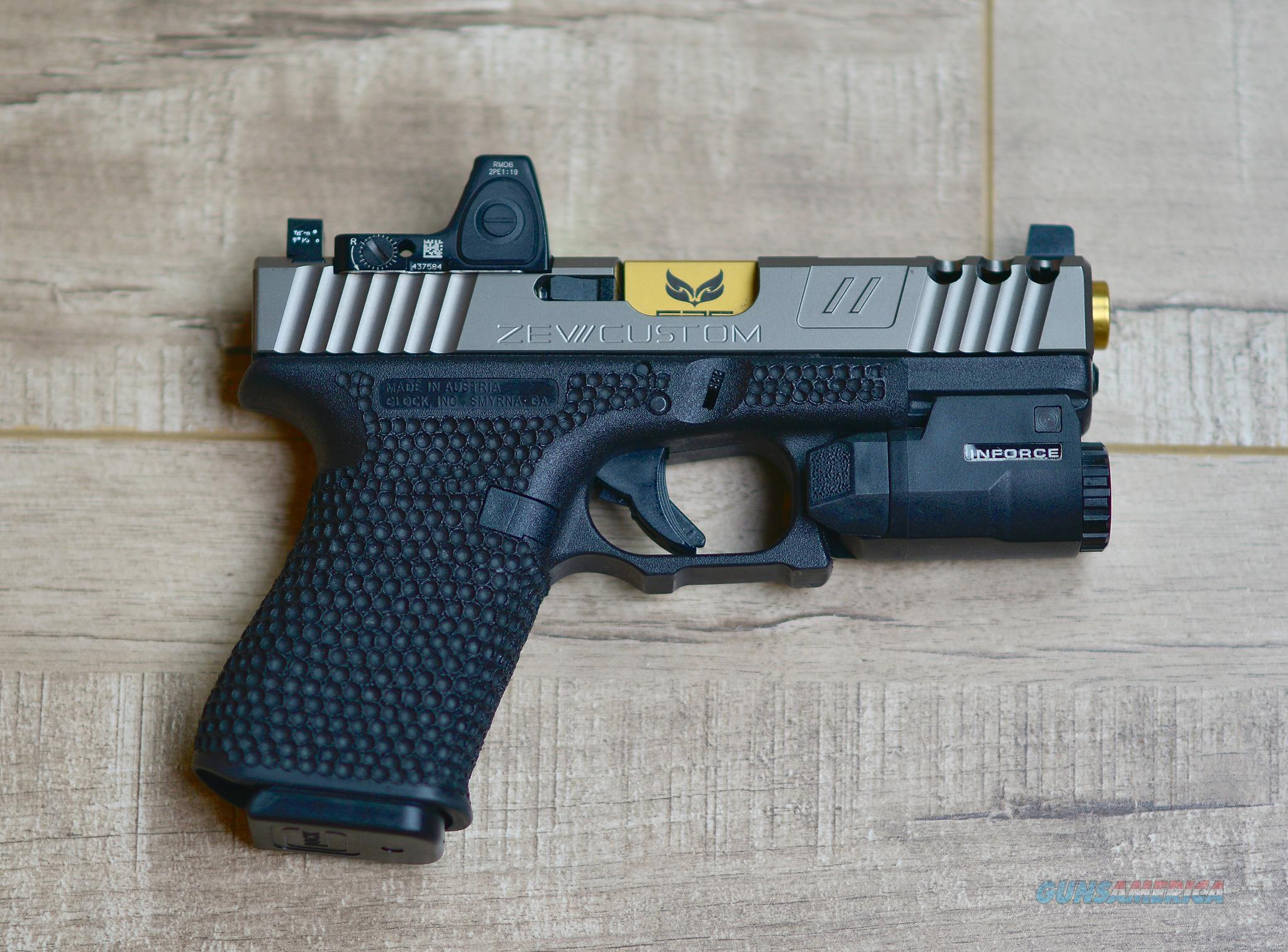 Glock 19 Upgraded,  California Compliant  Guns > Pistols > Glock Pistols > 19/19X