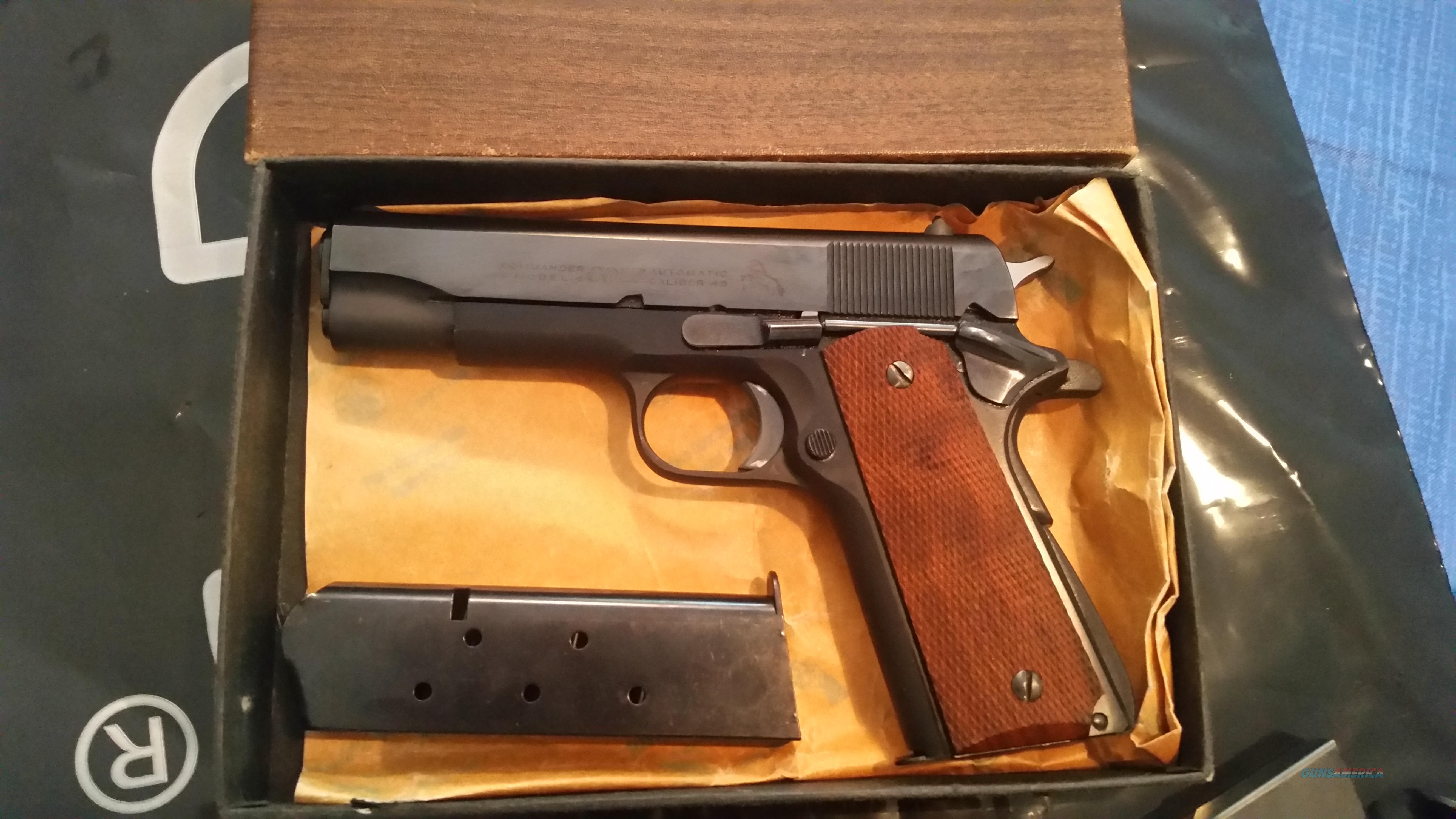 Colt Combat Commander LW - 1970s  Guns > Pistols > Colt Automatic Pistols (1911 & Var)