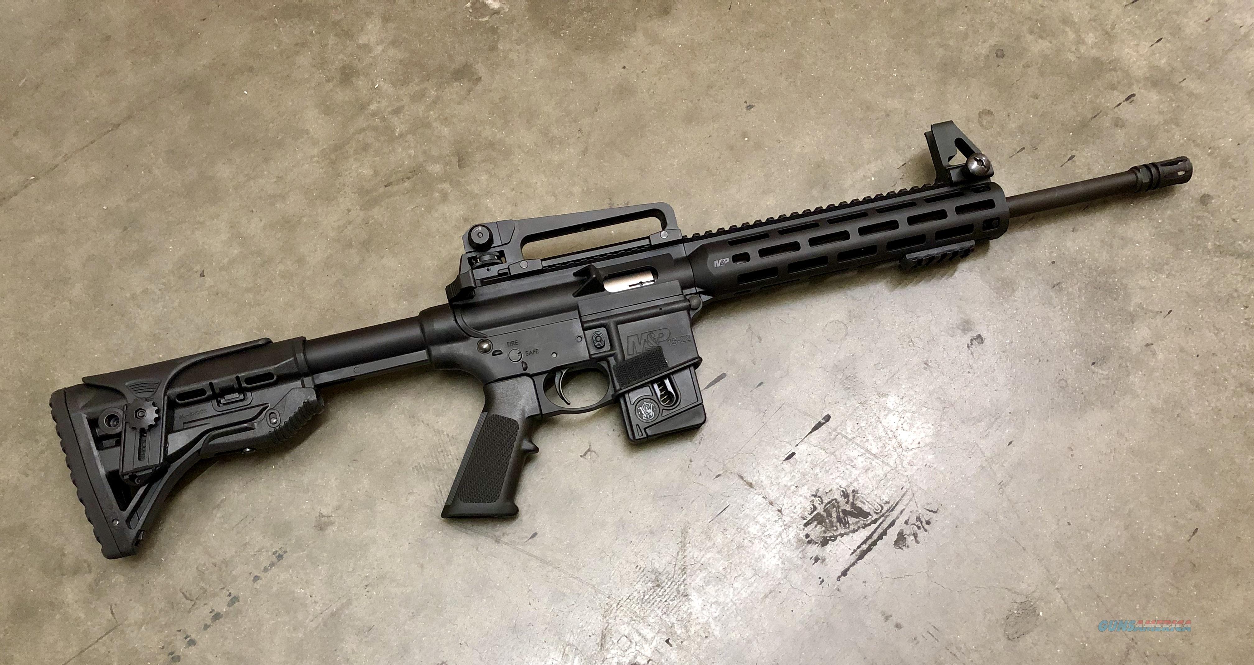 """Smith and Wesson"" M&P15 - 22LR (Sport Rifle)  Guns > Rifles > Smith & Wesson Rifles > M&P"