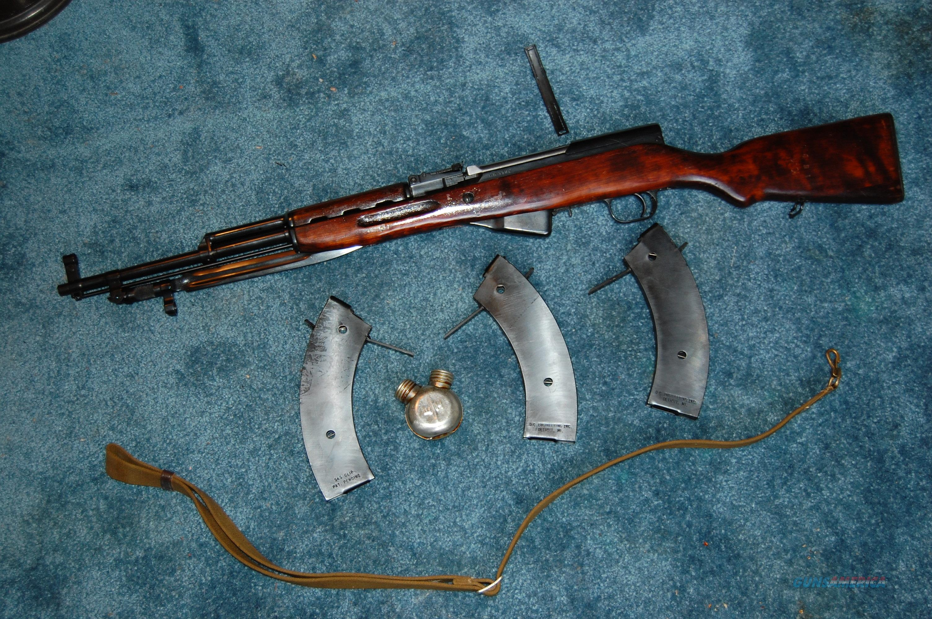 Russian SKS with high capacity mags  Guns > Rifles > SKS Rifles