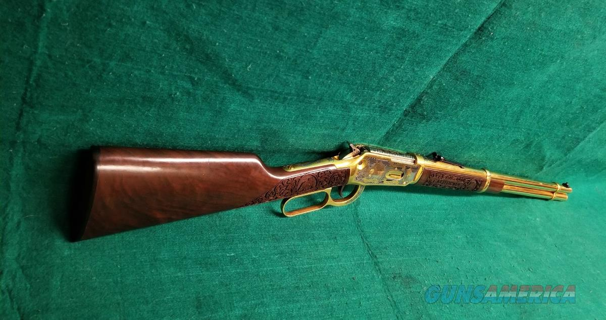 Winchester Repeating Arms Company 94ae Investment Arms 24k Gold Plated #4 Of 10 Limited Edition Laser Engraved Shasta County 150th Anniversary W-Case   Guns > Rifles > Winchester Rifles - Modern Bolt/Auto/Single > Other Bolt Action
