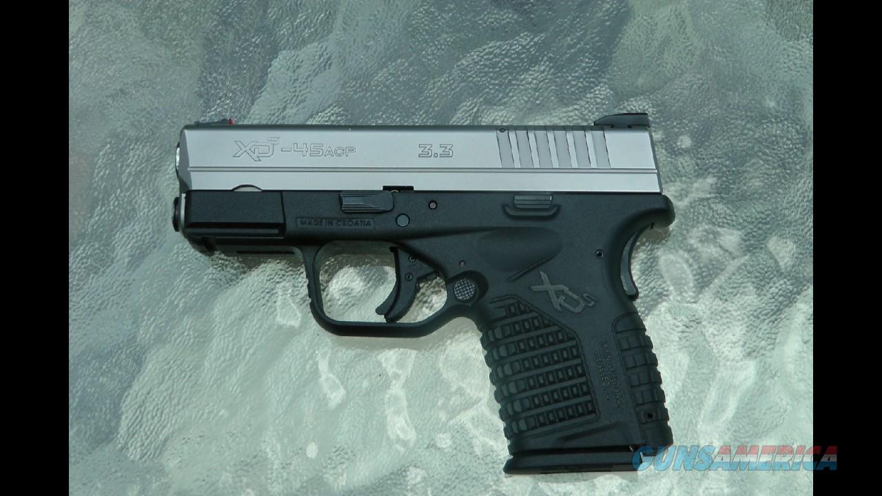 XDS 45.ACP Springfield Pistol  Guns > Pistols > Springfield Armory Pistols > XD-S
