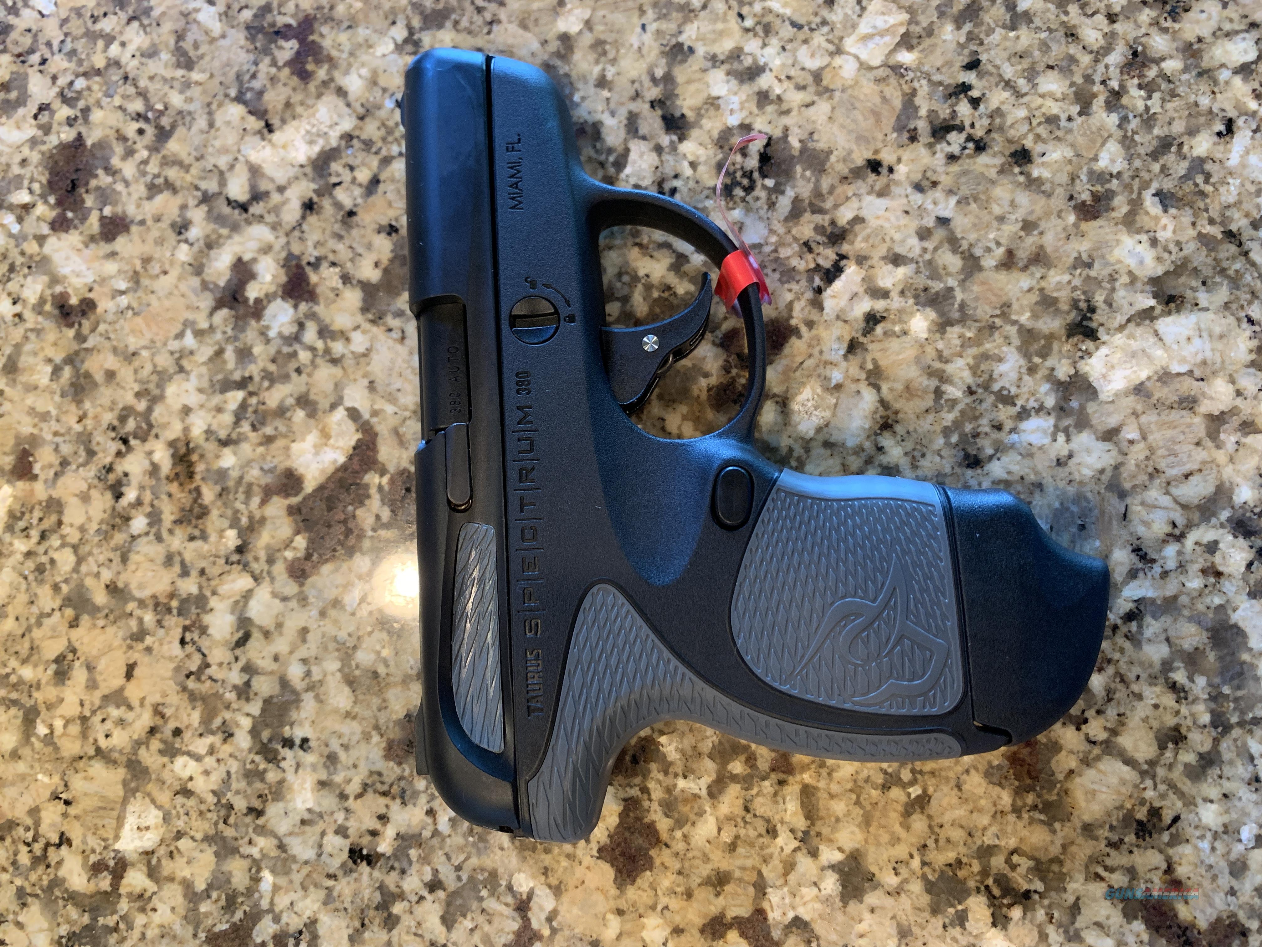 Tarus .380 Pistol  Guns > Pistols > Taurus Pistols > Semi Auto Pistols > Polymer Frame