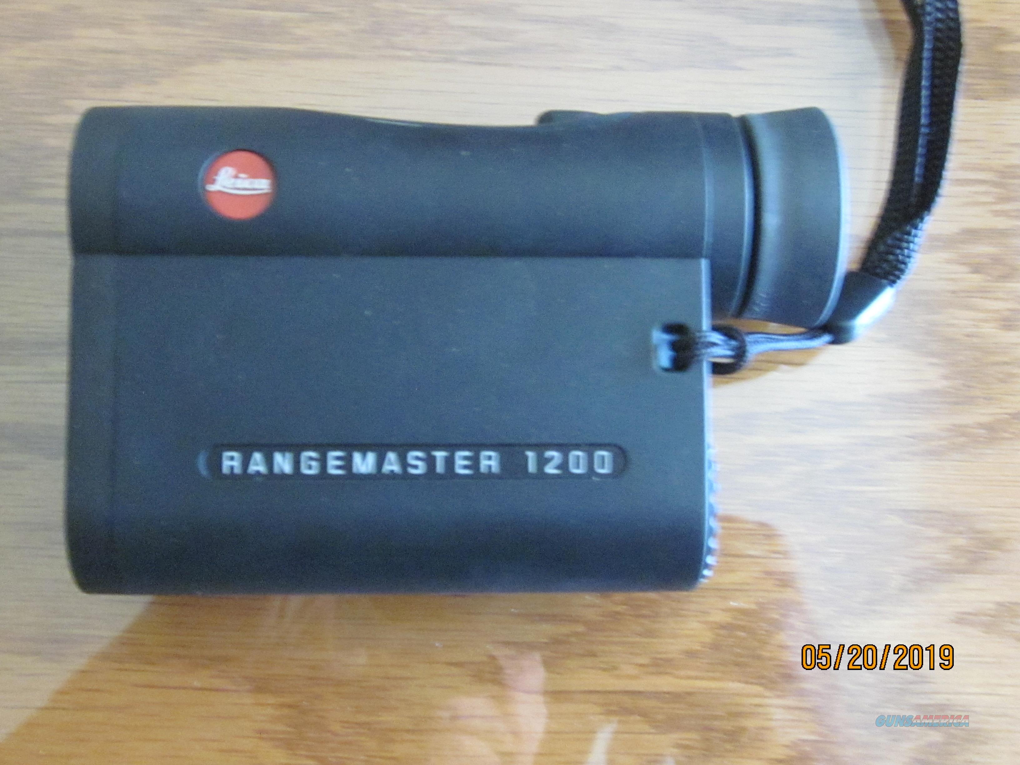 LEICA RANGEMASTER 1200 CRF Y Rangefinder   Non-Guns > Scopes/Mounts/Rings & Optics > Non-Scope Optics > Rangefinders