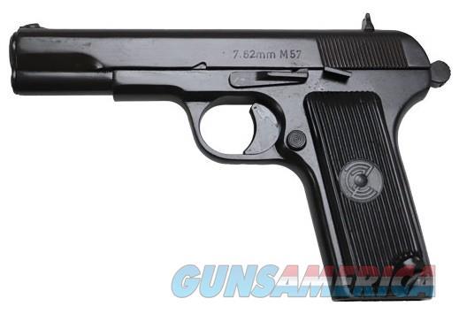 ZASTAVA M57 PISTOL 7.62X25 1-9RD BLUED REFURBISHED  Guns > Pistols > Zastava Arms