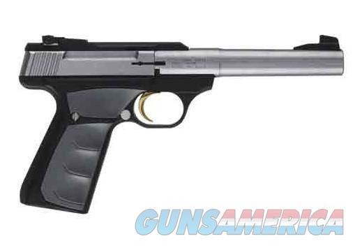 """BG BUCK MARK CAMPER UFX S/S .22LR 5.5""""HB STAINLESS/BLK SN  Guns > Pistols > Browning Pistols > Buckmark"""