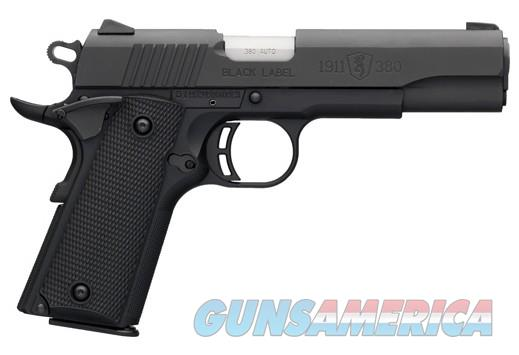 BG BLACK LABEL 1911-380 380ACP FS 2EA. 8-SHOT MAGS. BLACK SYN  Guns > Pistols > Browning Pistols > Other Autos