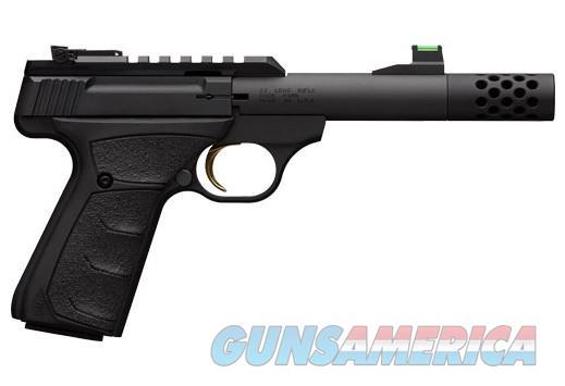 "BG BUCK MARK MICRO BULL SR .22LR 4.4"" THREADED BLACK RB  Guns > Pistols > Browning Pistols > Buckmark"