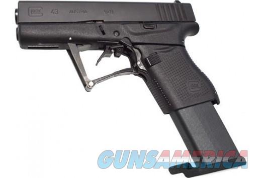 FULL CONCEAL M3S GLOCK 43 9MM FOLDING PISTOL 10 ROUNDS BLACK  Guns > Pistols > Glock Pistols > 43/43X