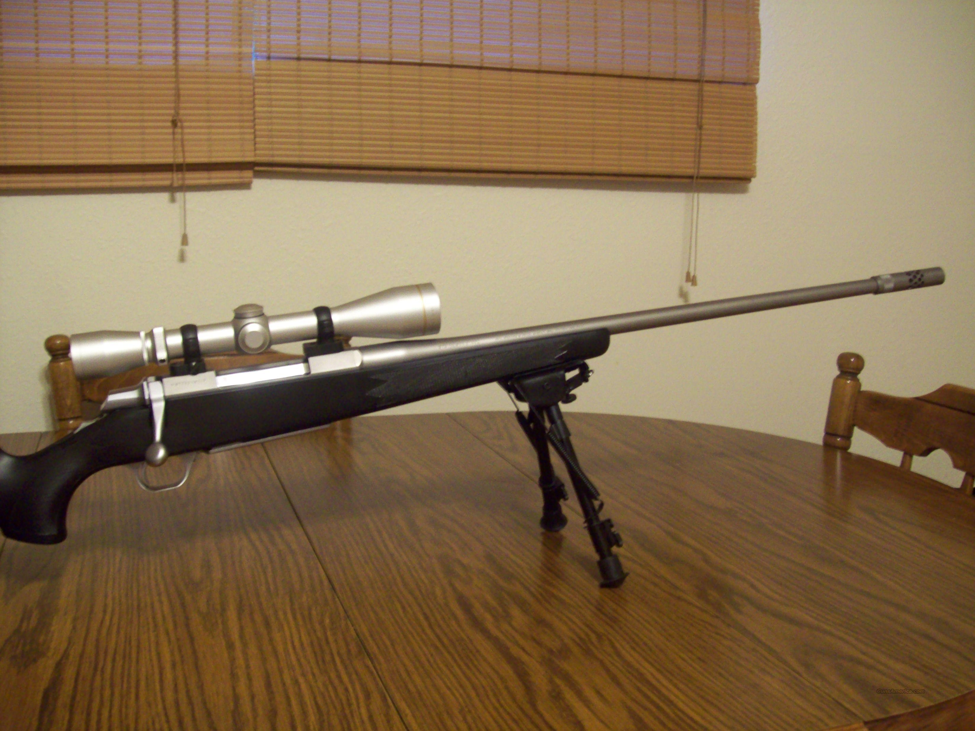 SS A BOLT 7MM MAG WITH BOSS AND VX2 SS LEUPOLD 3-9  Guns > Rifles > Browning Rifles > Bolt Action > Hunting > Stainless