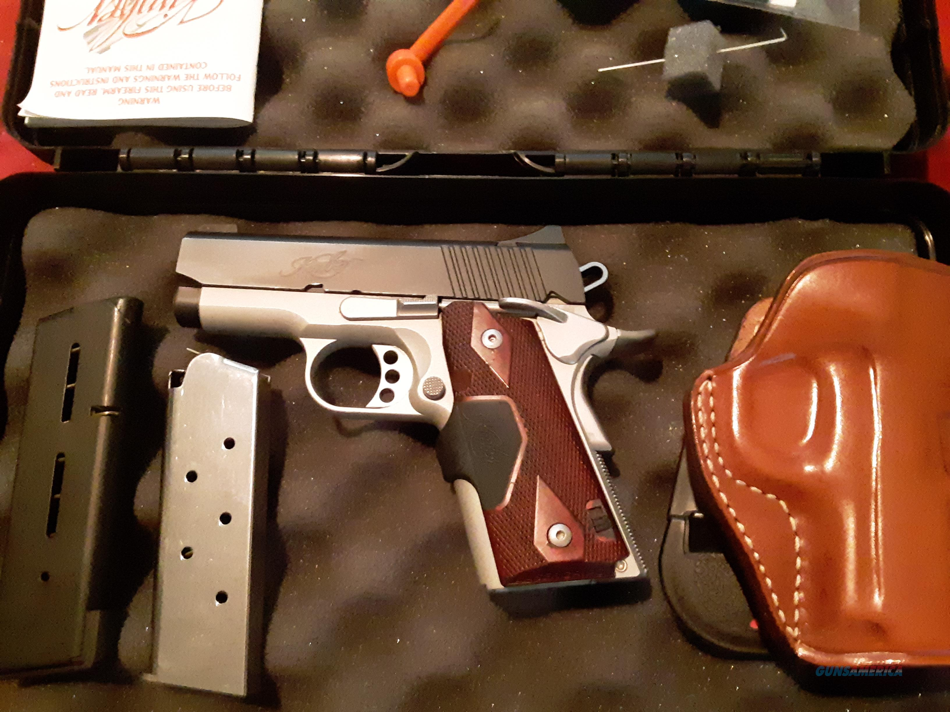 New in Box Kimber Ultra Crimson Carry II 45 ACP w/ Red Laser   Guns > Pistols > Kimber of America Pistols > 1911